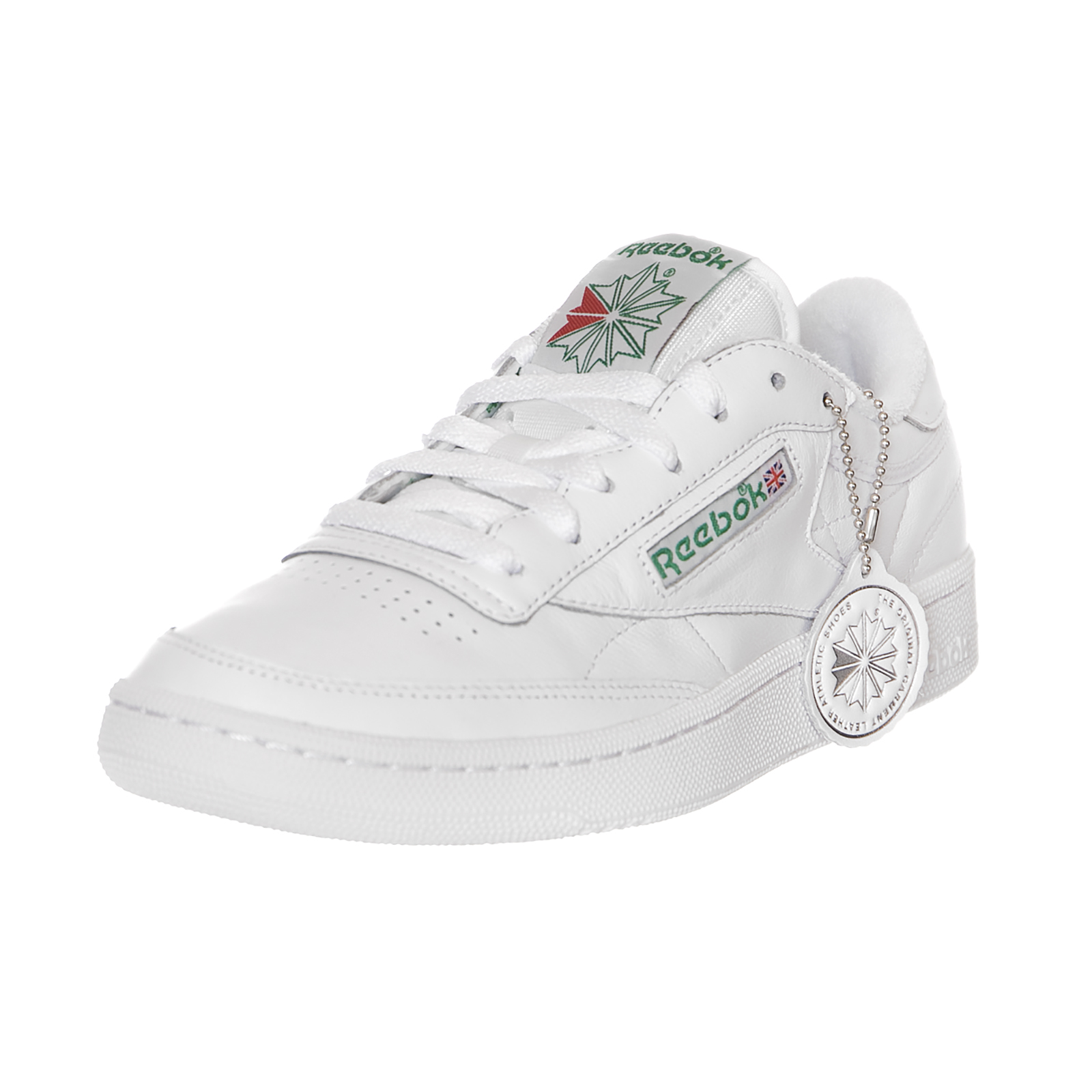 Reebok Sneakers Club C 85 Archive White / Green / Red Bianco