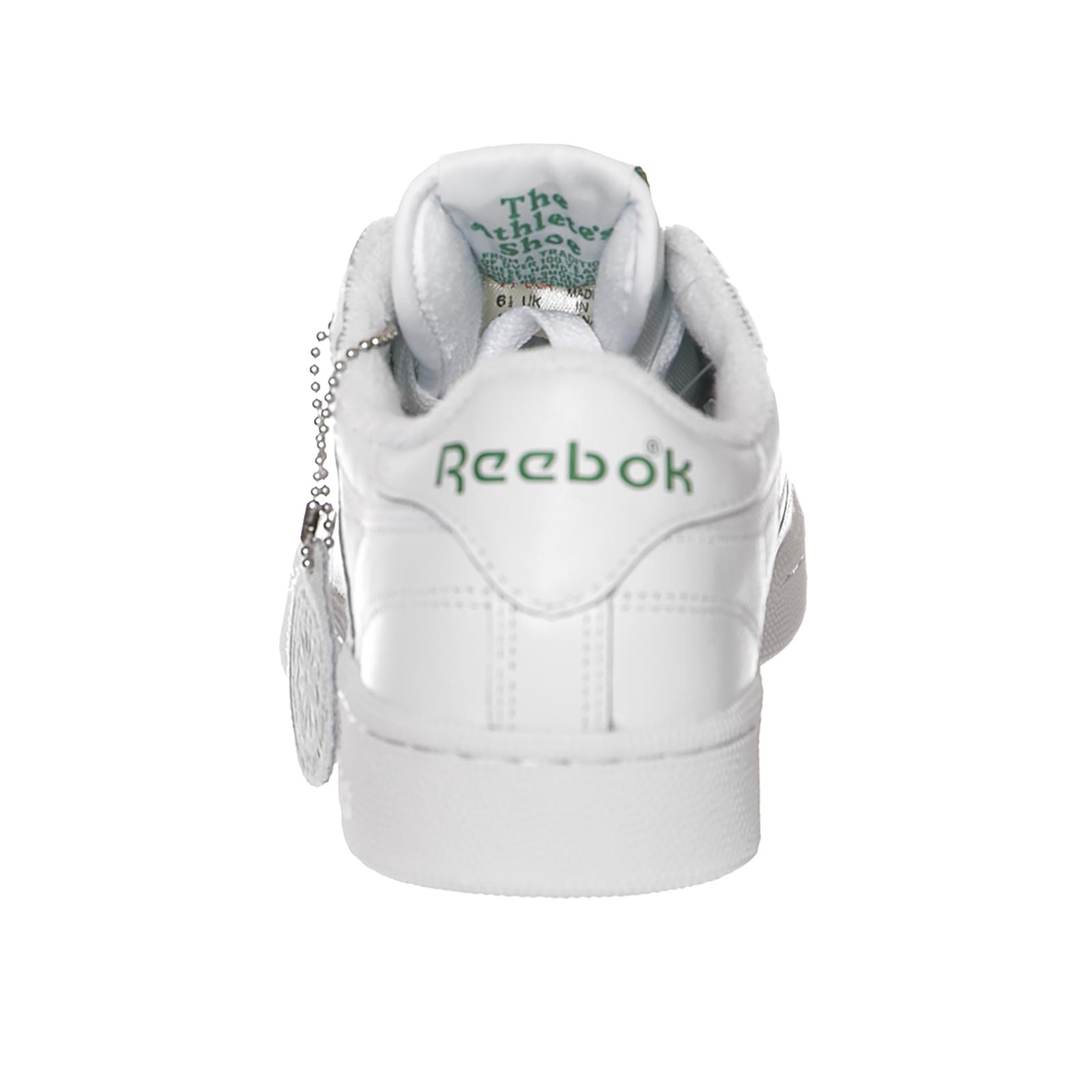Reebok-Zapatillas-Club-C-85-Archivo-Blanco-Verde-Rojo-Blanco