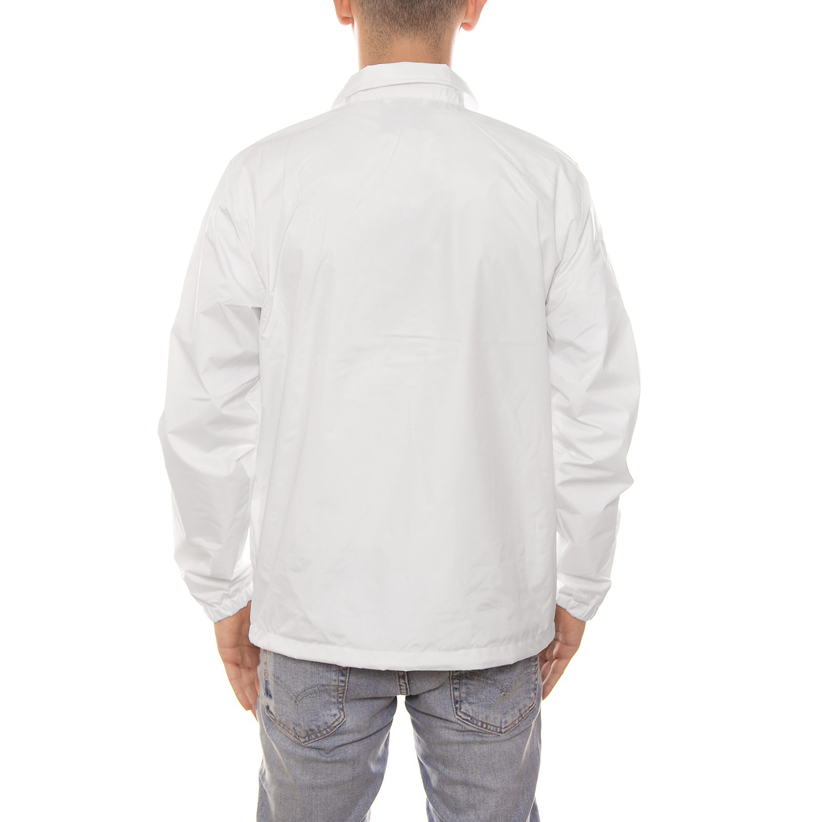 Carhartt-giacca-Strike-Coach-Jacket-Nylon-Tafetta-2-4-Oz-White-Black