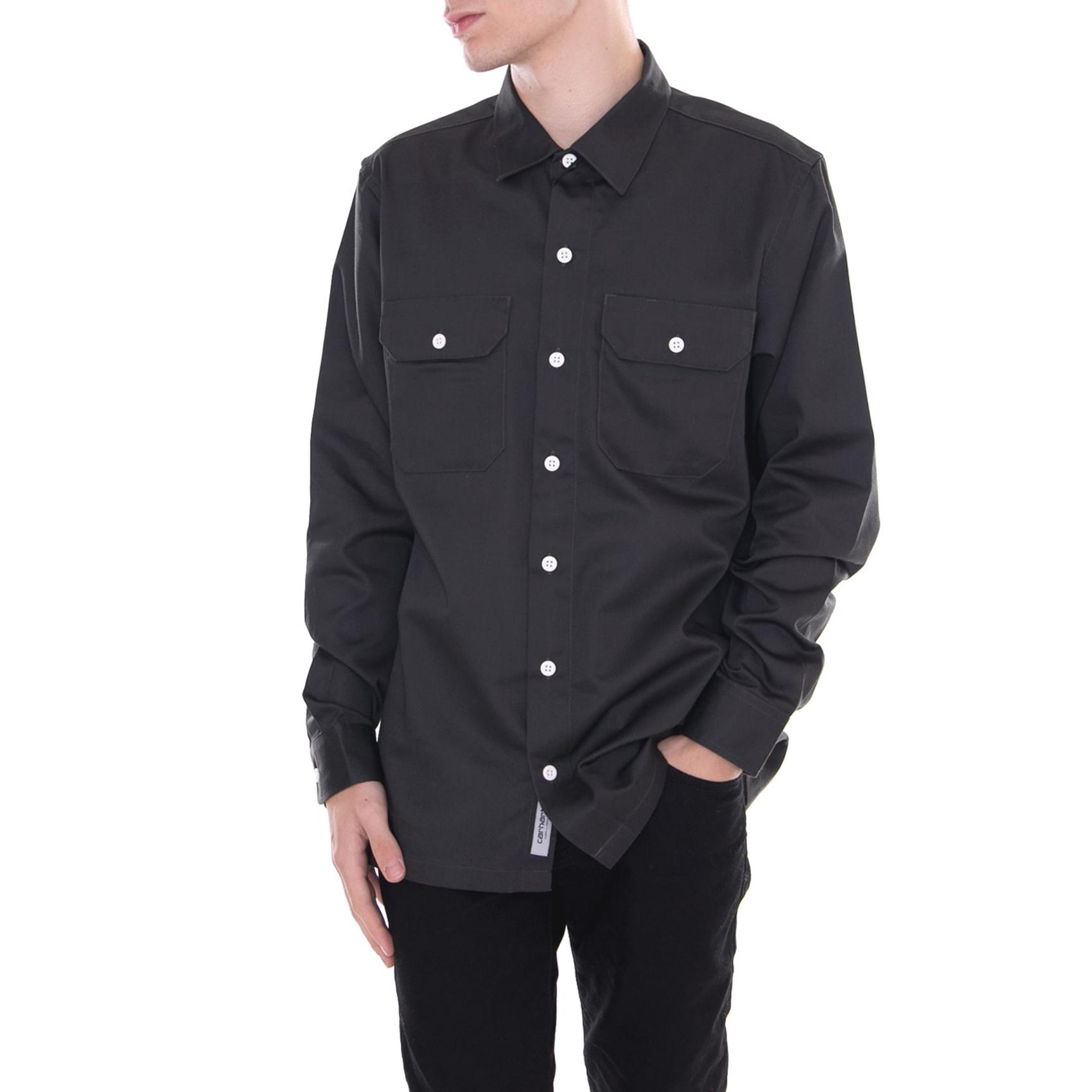 Shirt Carhartt Master Grigio Camicie Grey Asphalt EqvxOBqw