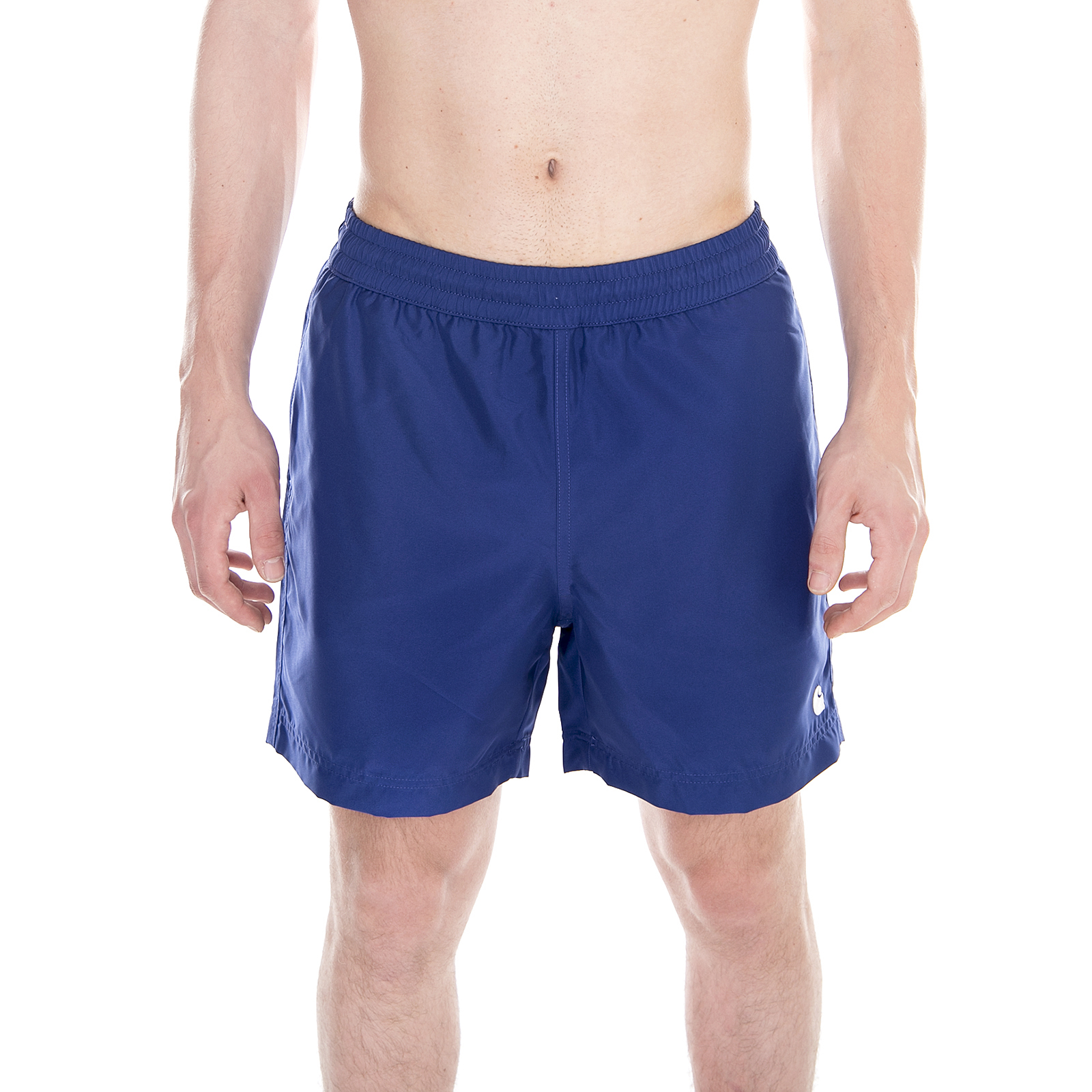 Carhartt Beachwear Cay Swim Trunk Sapphire / White Blue