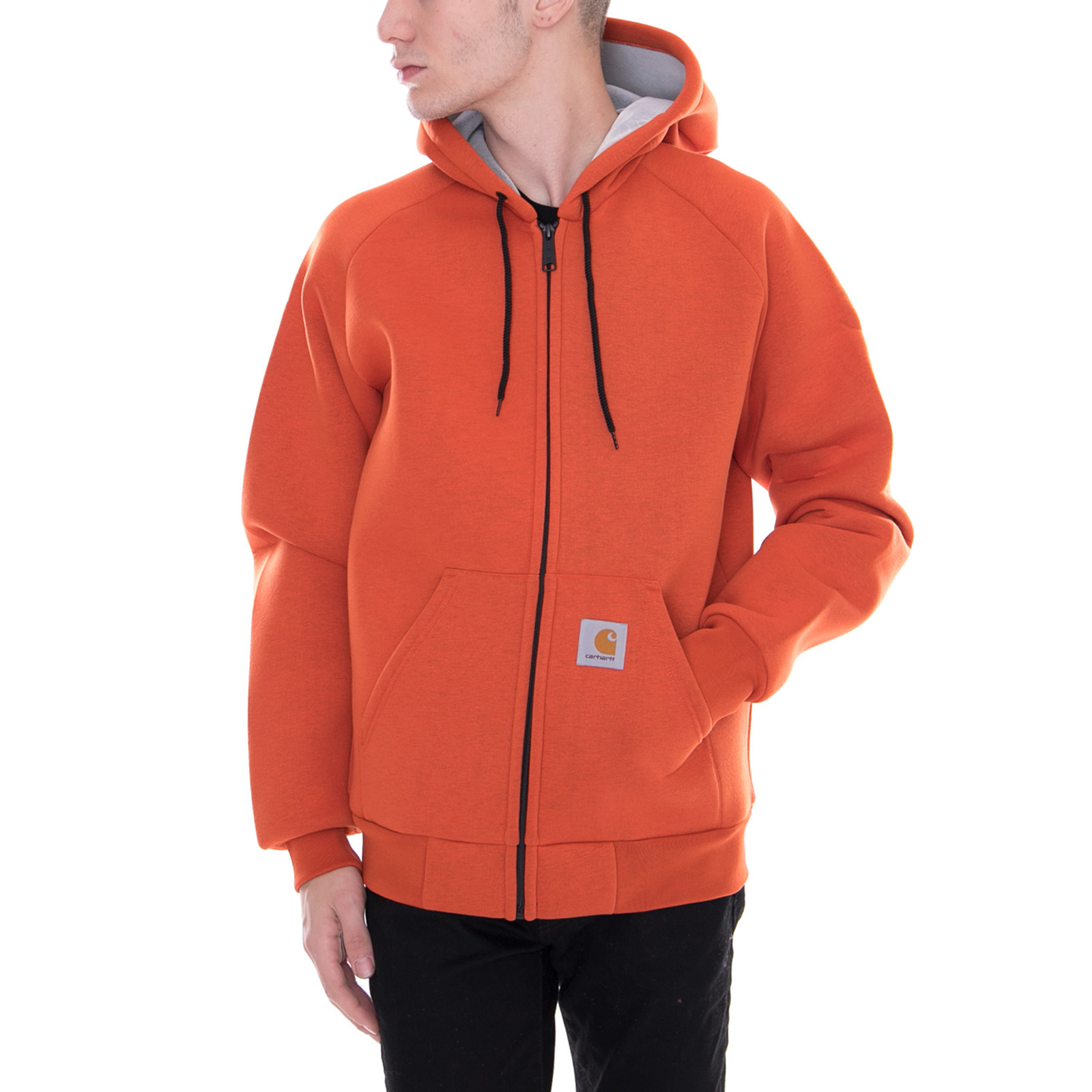 Persimmon lux Giacche Orange Arancione Jacket Hooded Carhartt Car apgvXqw6