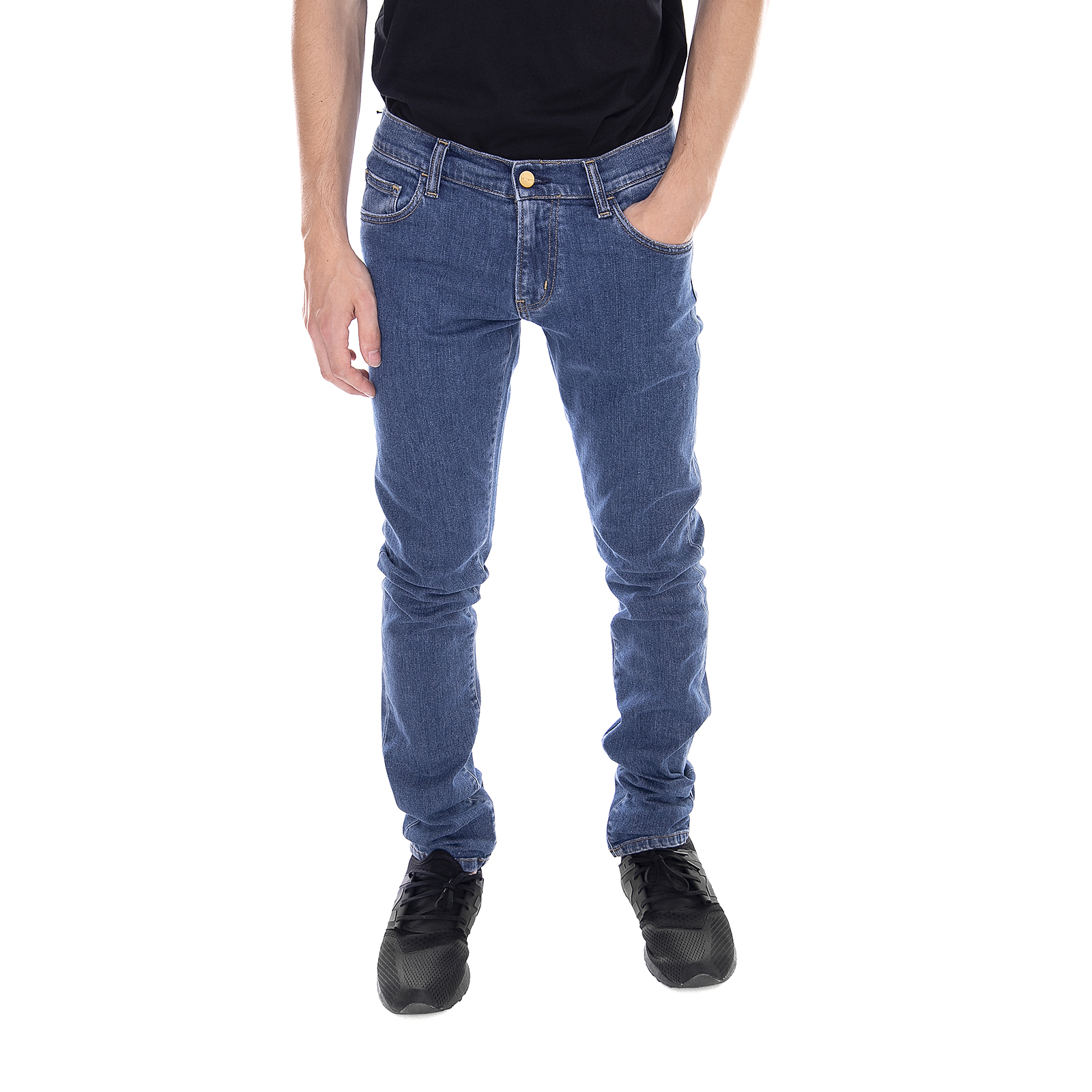 Rebel Blue Dark Denim Pantalone Stonewashed Carhartt EqW60xY