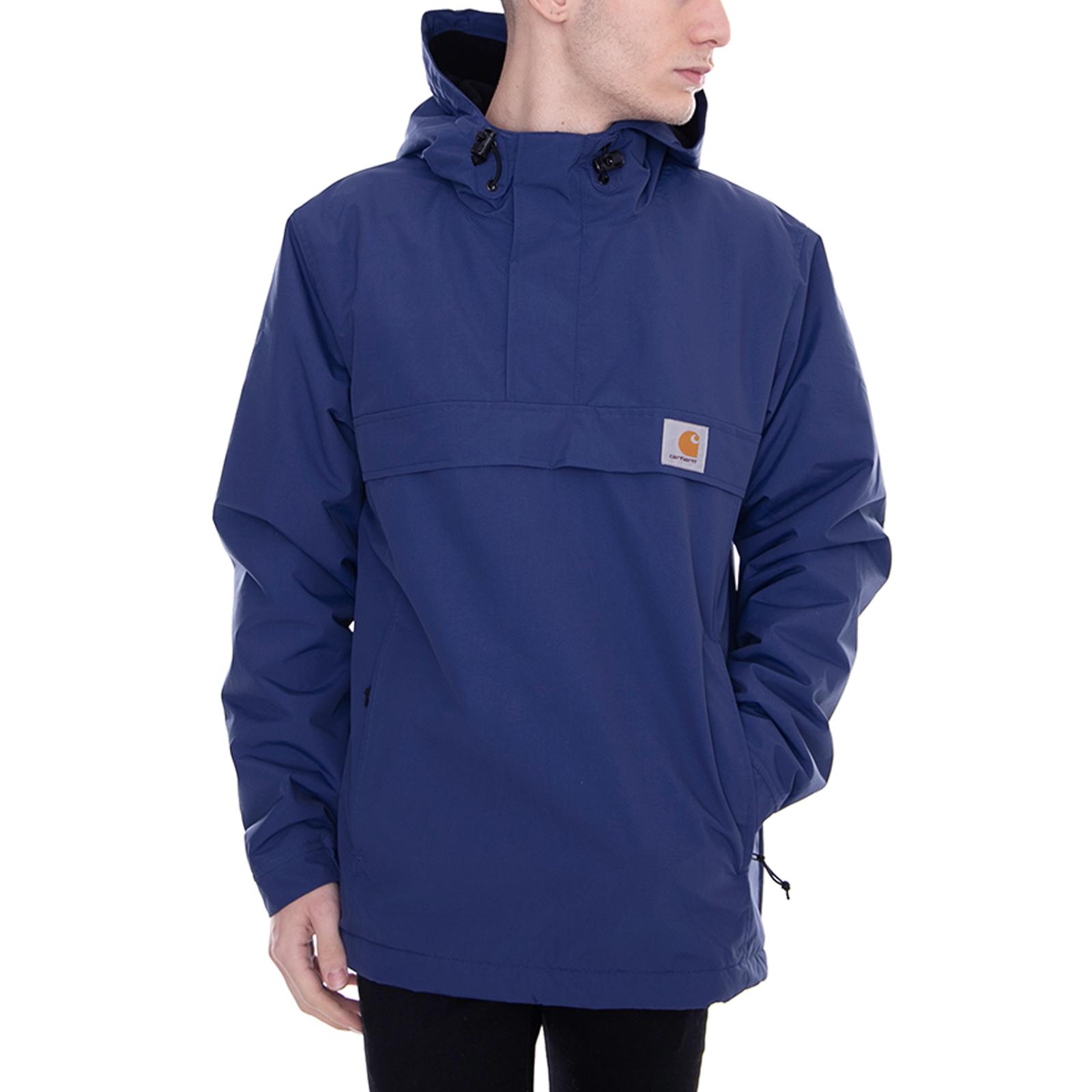 dobry przystępna cena najwyższa jakość Details about Carhartt Jacket Nimbus Pullover Metro Blue Blue