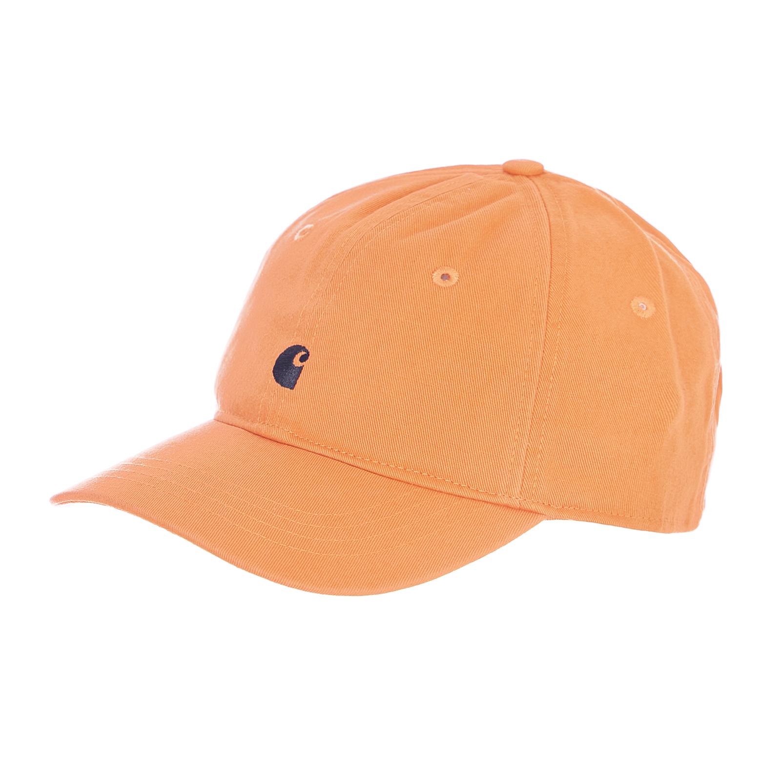 calzature negozio outlet prezzo ragionevole Carhartt Cappelli Madison Logo Cap Jaffa / Black Arancione | eBay