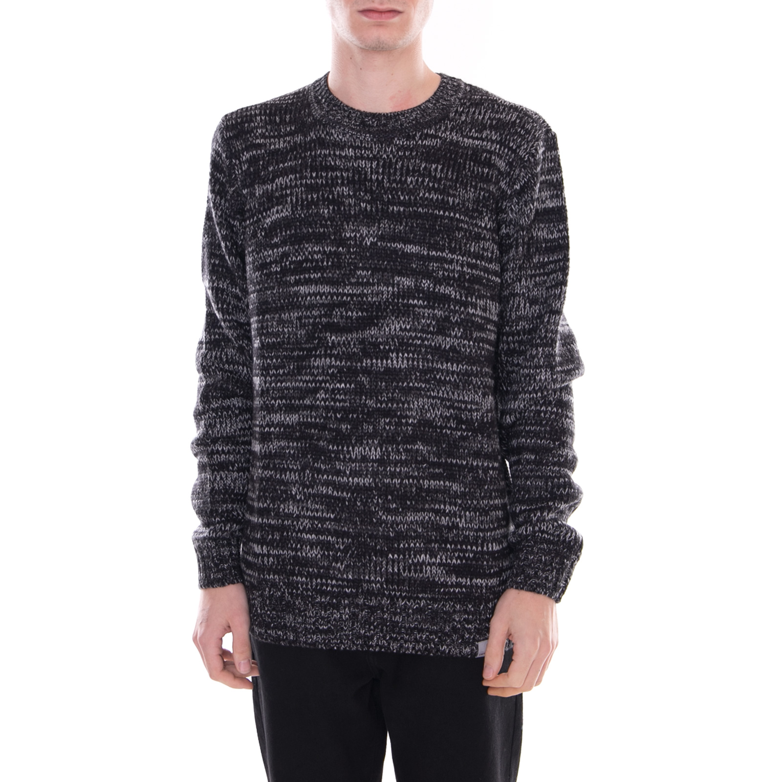 Sweater Blacksmith Morris Nero Heather grigio Carhartt Maglieria Nero SqHxBTa