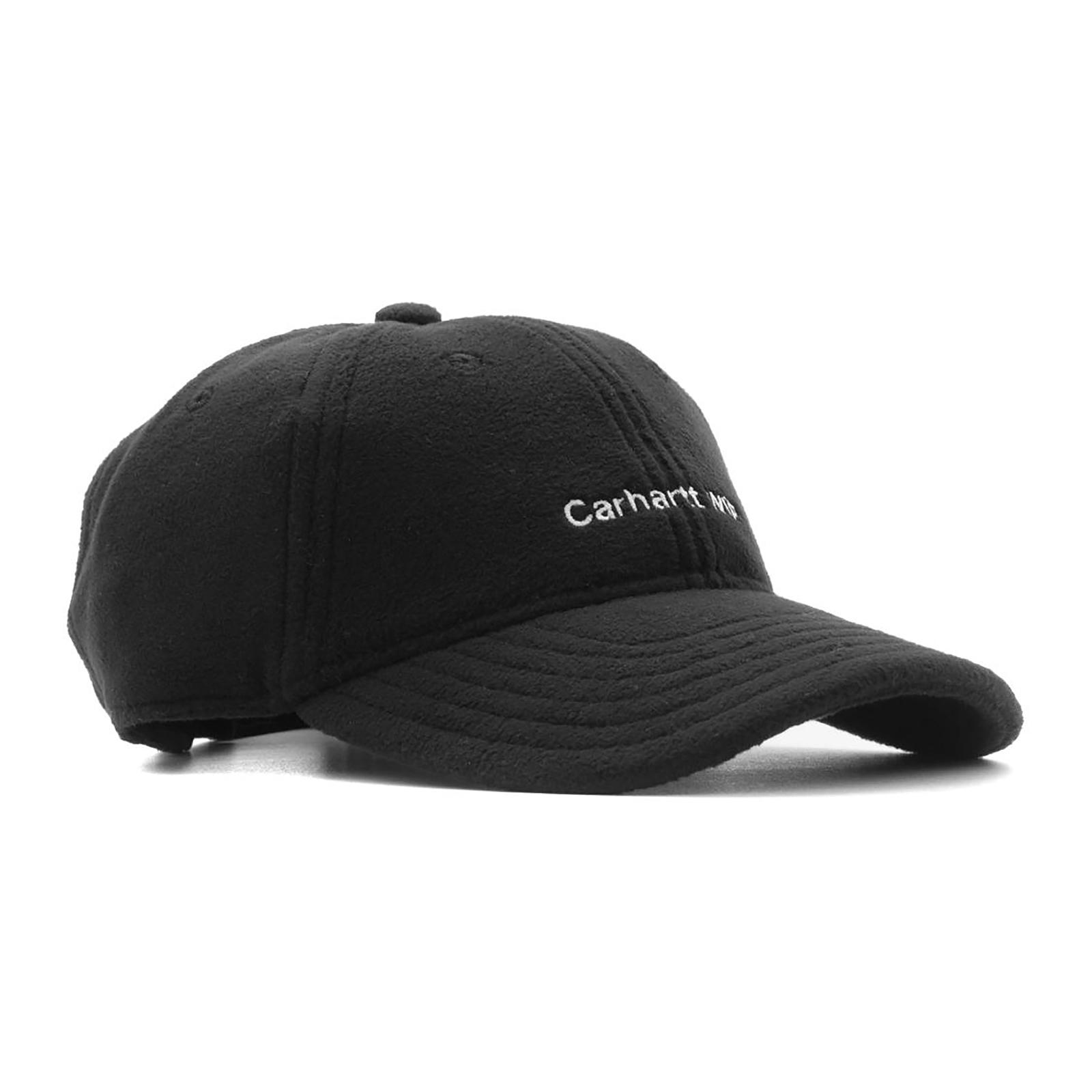 3d13943e057 Carhartt Cappelli Bold Script Cap Black Black