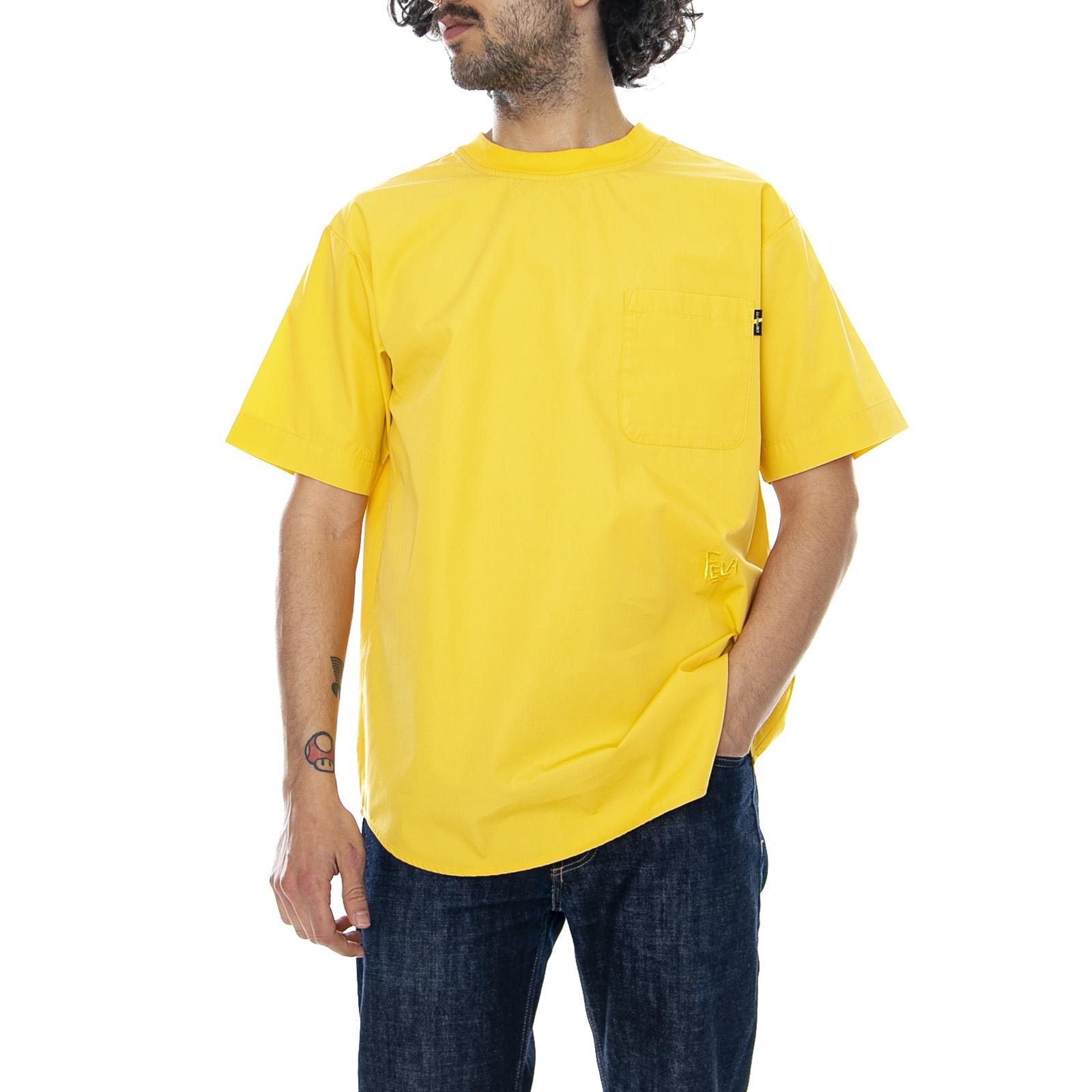Cochehartt Fela Kuti -  Samoan Sol Amarillo - Camiseta Cuello rojoondo Hombre  tomar hasta un 70% de descuento