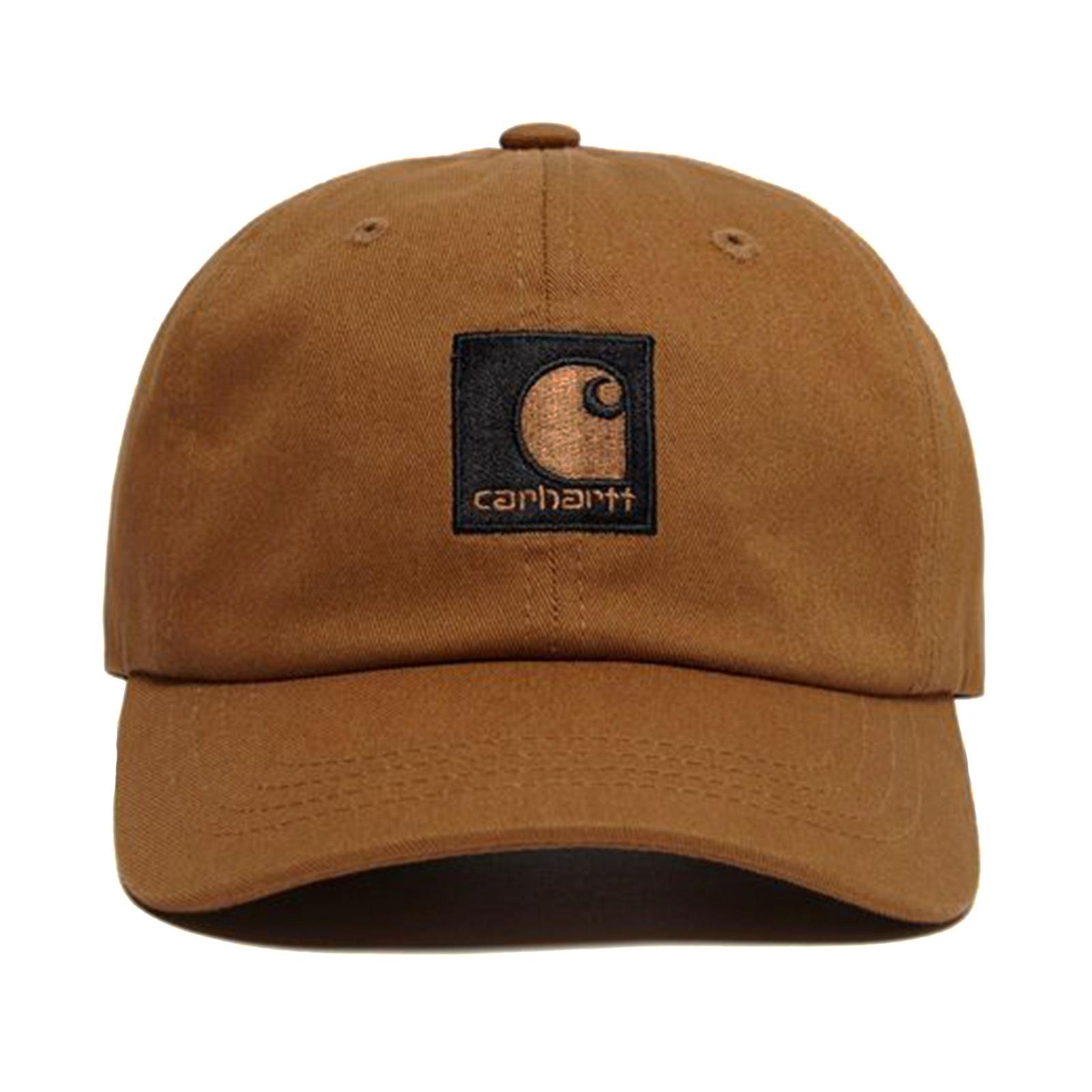 Carhartt Lewiston Cap Hamilton Brown Black - Cappellino Con Visiera Marrone 8b1d6c865f02
