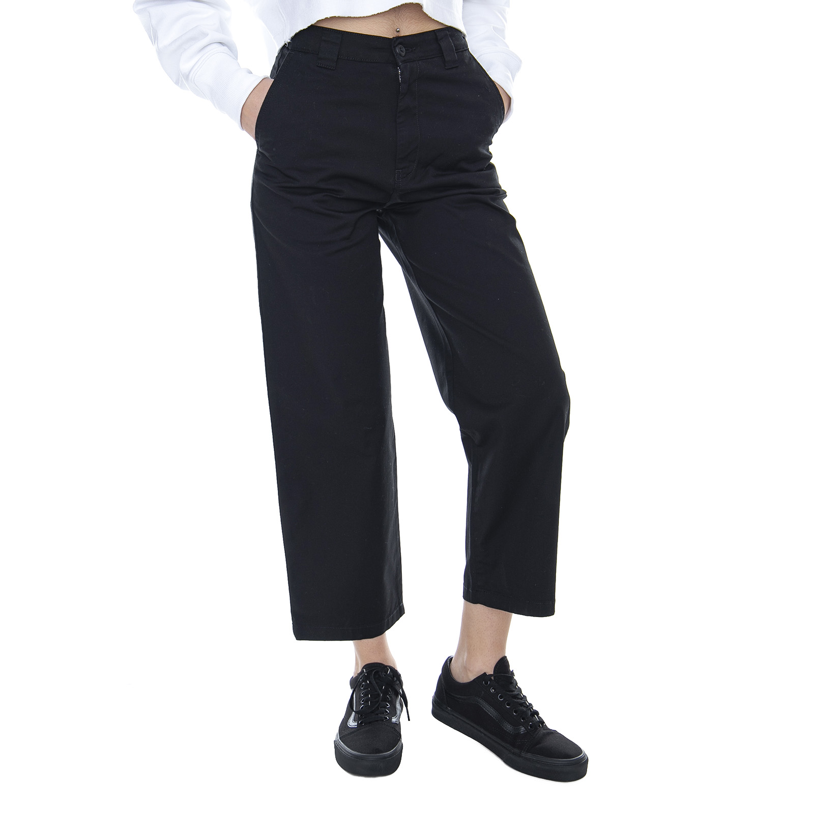 Negro Black Detalles Pantalones Carhartt De W Master Jadear Mujer Great u5TlFK13Jc