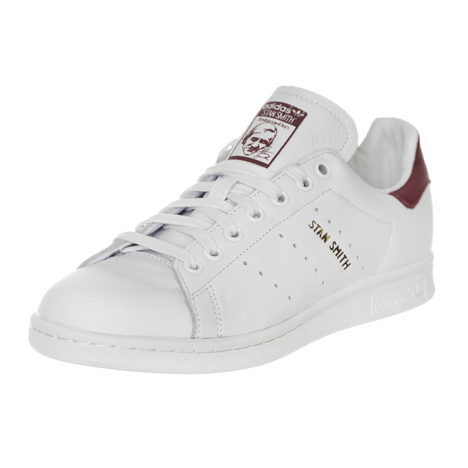Adidas Stan Smith Ftwwht/Ftwwht/Cburgu Bianco Bianco Ftwwht/Ftwwht/Cburgu Bianco 6936c0