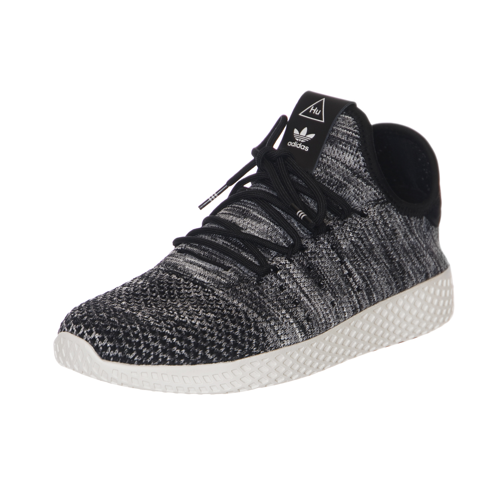 5d6bf624dcaa1 Adidas Baskets Pw Tennis Hu Pk Blanc   Black Noir