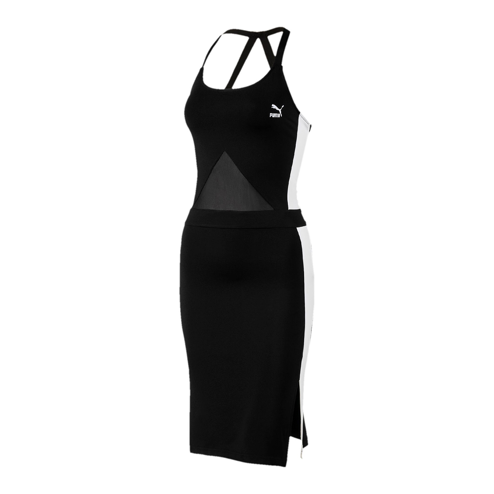 Puma Vestiti Archive T7 Dress Puma Black Nero