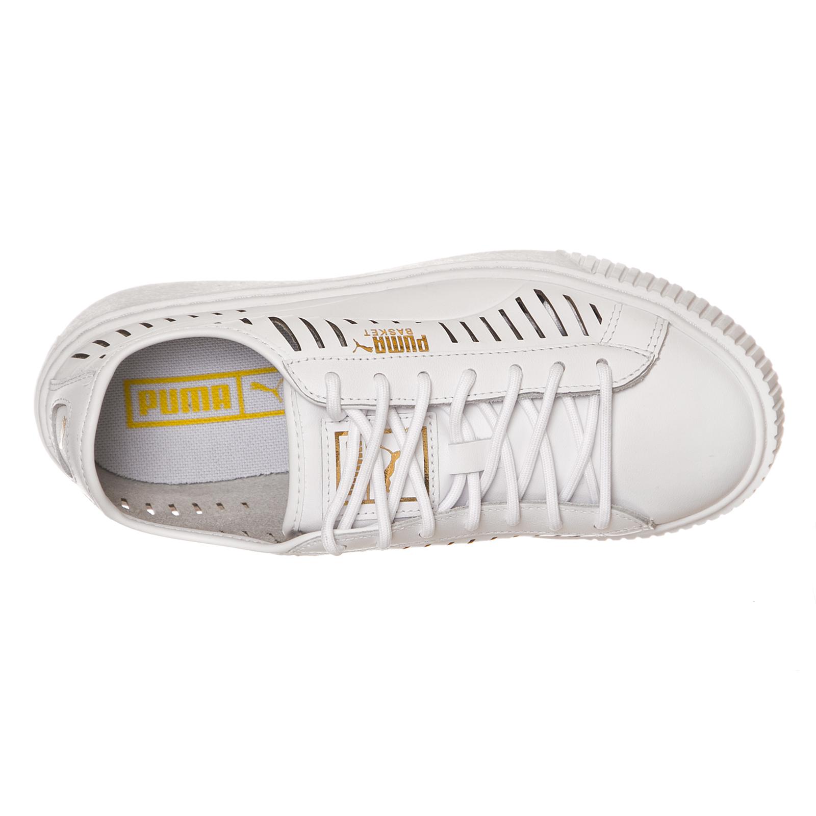 Puma basket puma - plattform ist im sommer als puma basket mit bianco bianco 1ae750