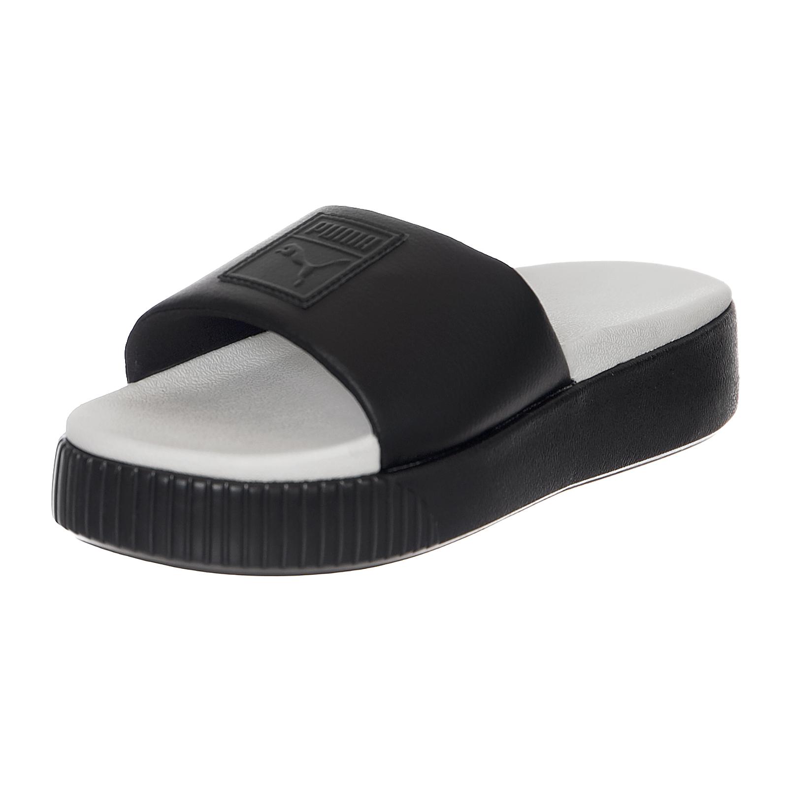 2e22e626d1 Puma Sandals Platform Slide Wns puma Black-Whisper White Black | eBay
