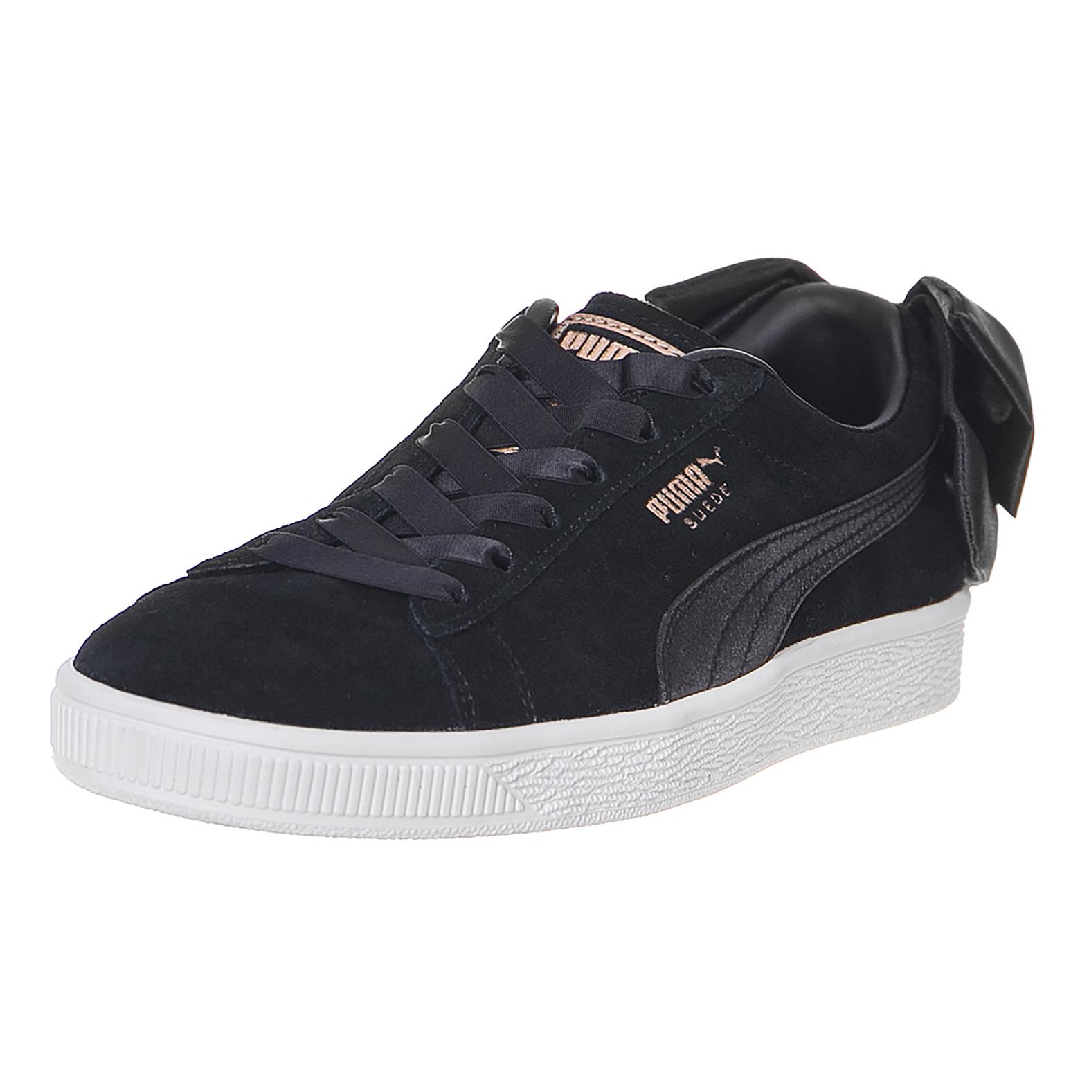 Wn S NoirEbay Daim Black Bow Puma Baskets CtQdrsh