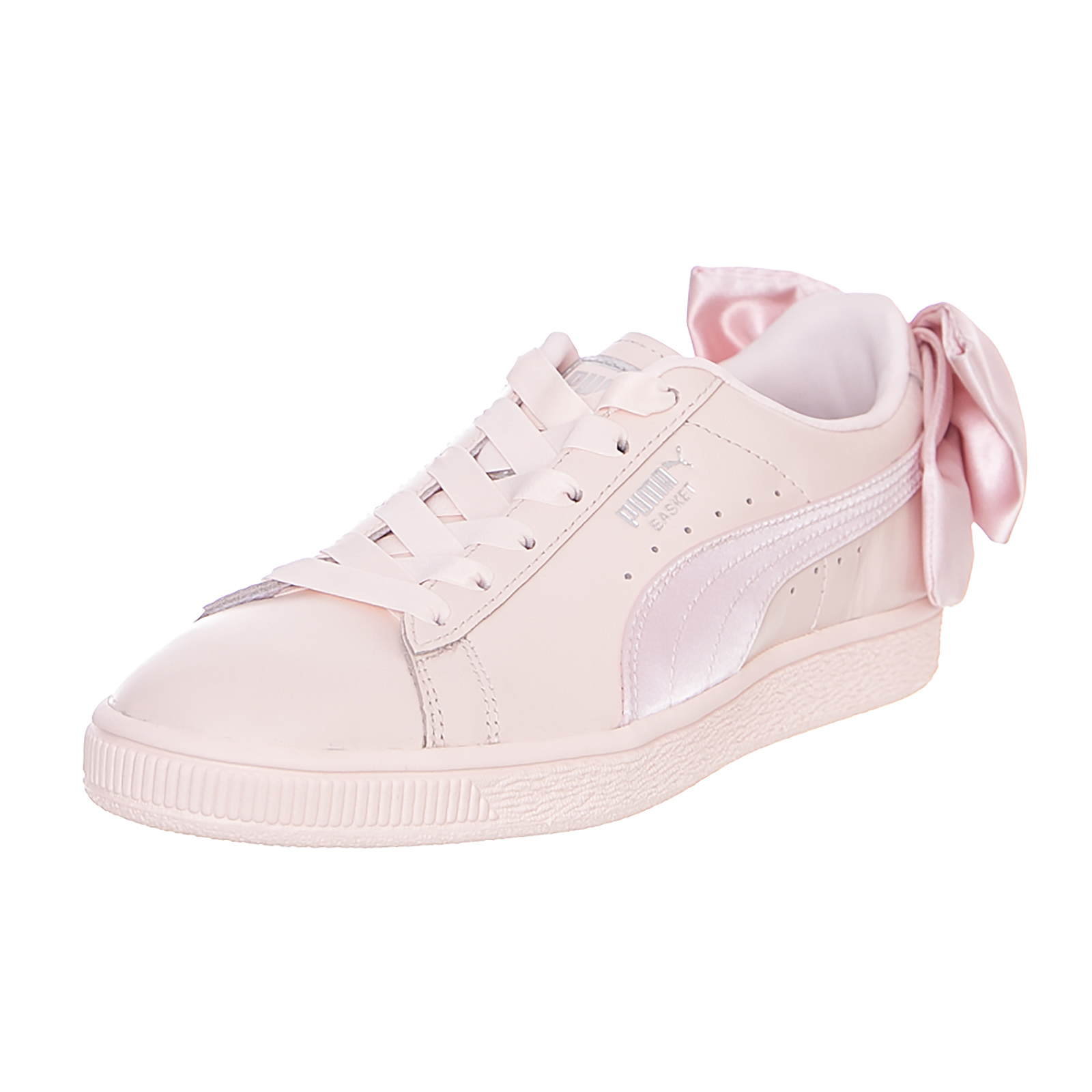 pretty nice 2d08a 370e6 Details about Puma Basketball Sneakers Bow Wn S Pearl-Pearl Pink
