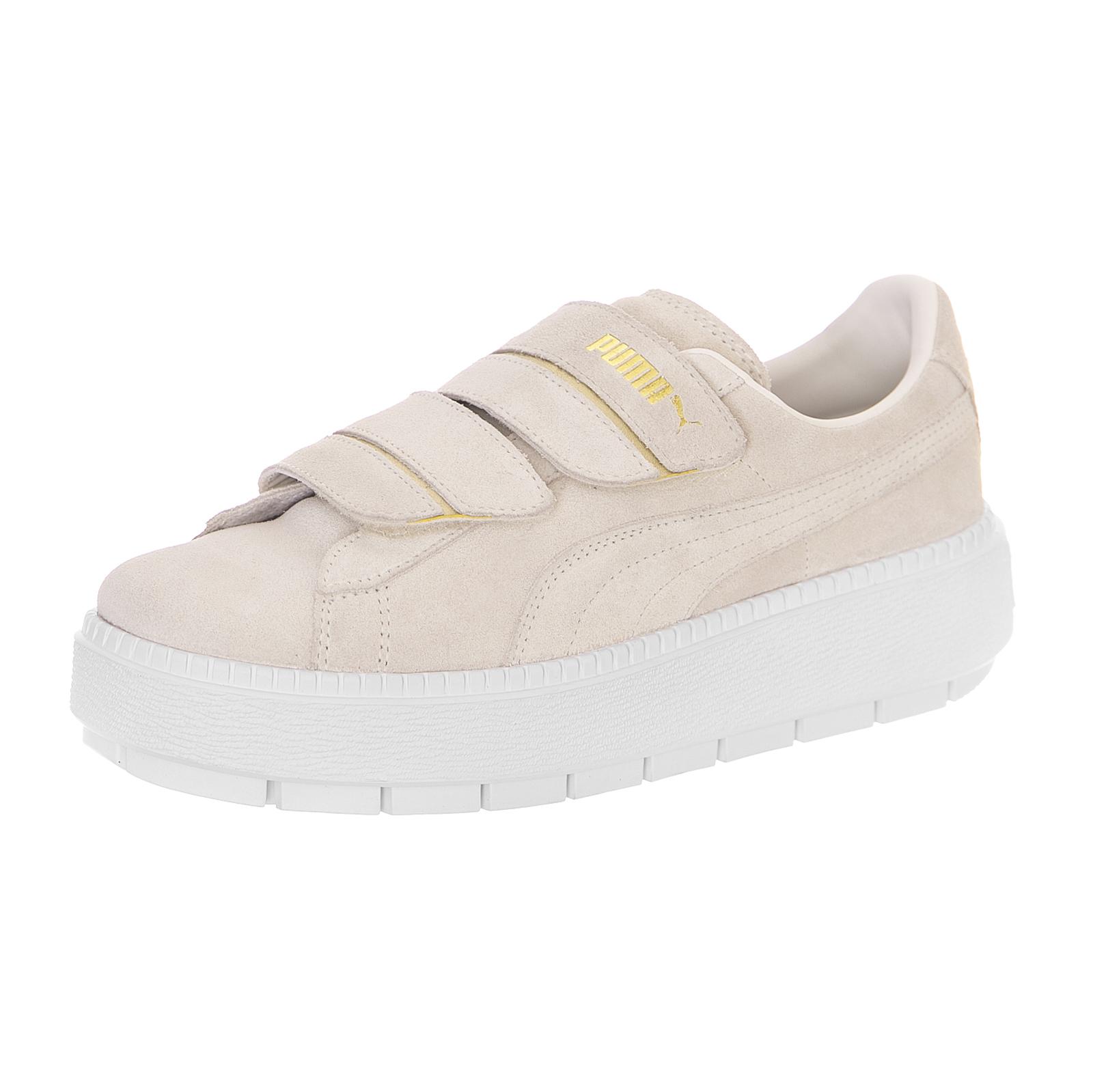 Puma Sneakers Platform Trace Strap Bianco Wn S Whisper White Bianco Strap 707d25