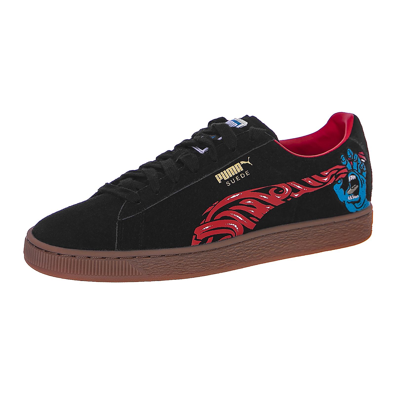 Puma Sneakers Suede Classic X Santa Cruz Puma Black Black