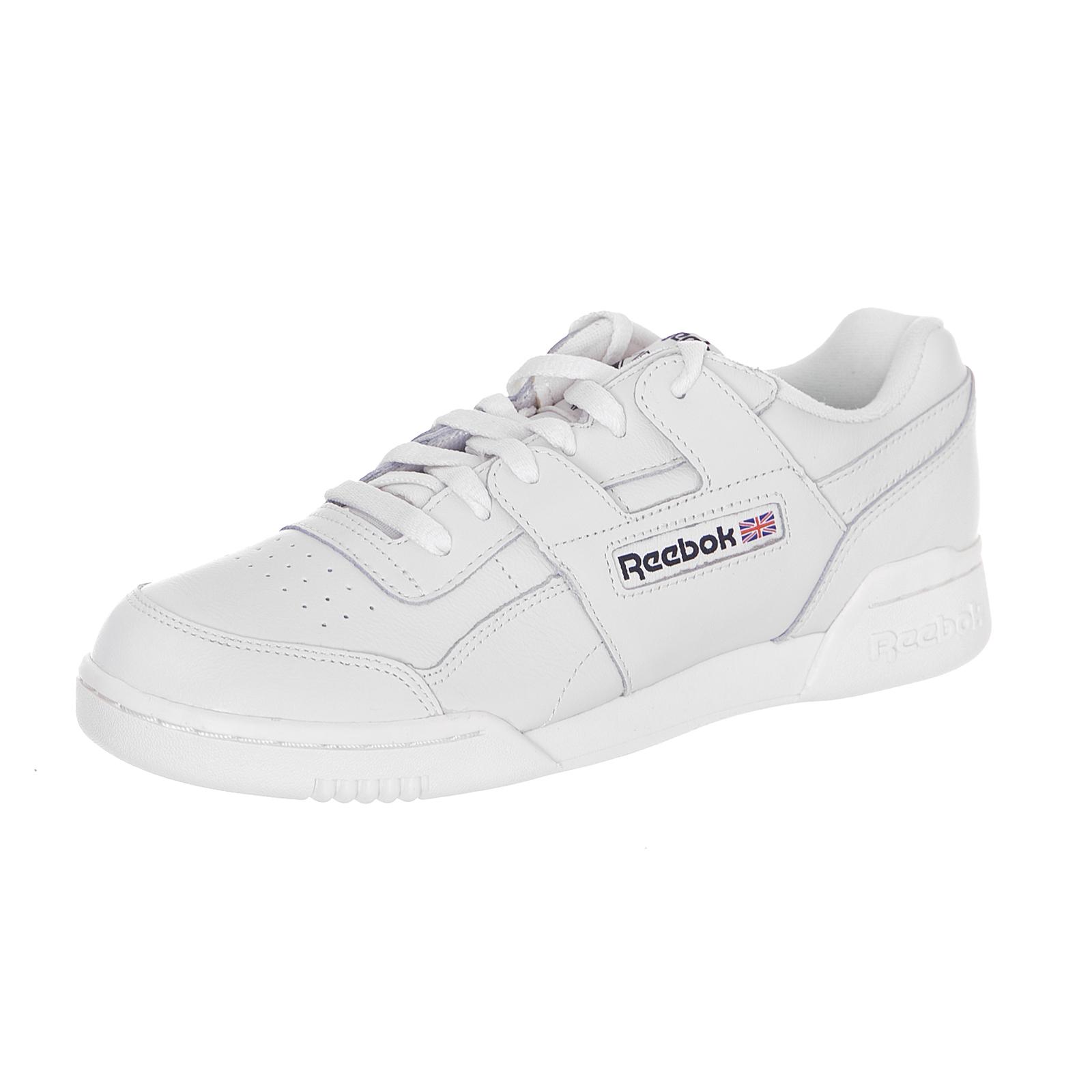7e4a18cb2de4 Reebok Sneakers Workout Plus Mu Chalk   Black White