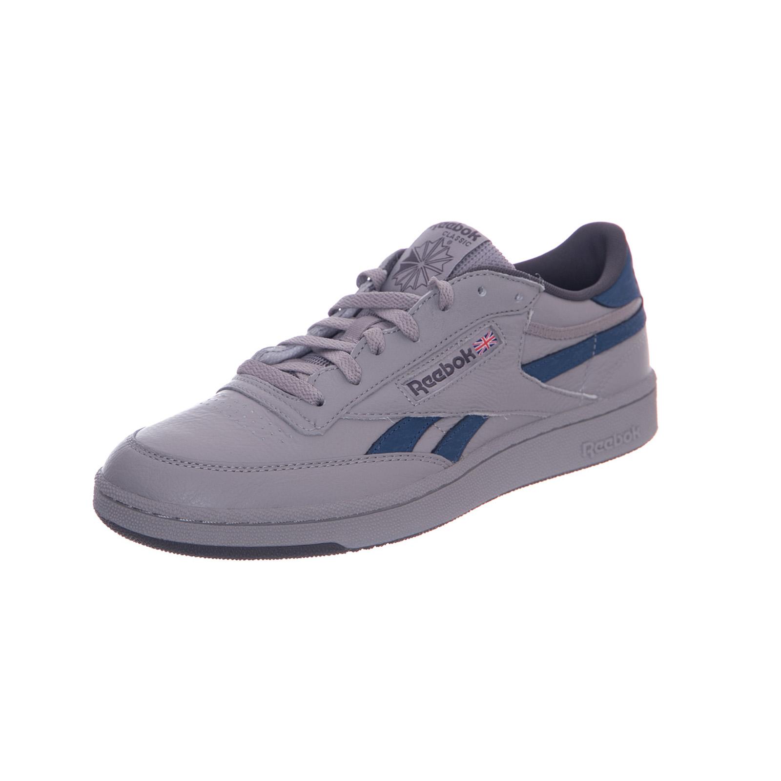 Reebok Gris Blanc Etain Grigio Plus Bleu Revenge Sneakers r8aqrPIf