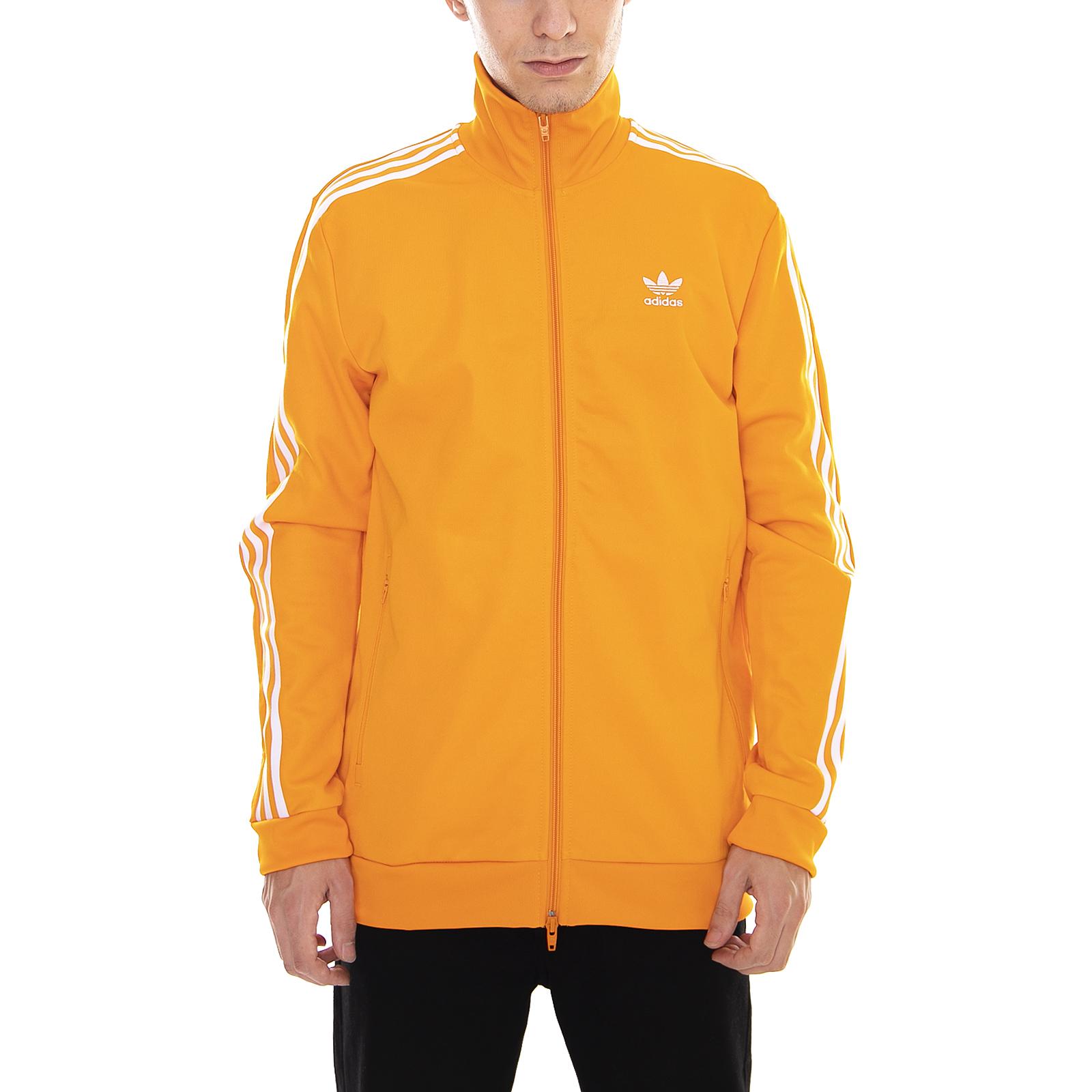 felpa adidas arancione fluo
