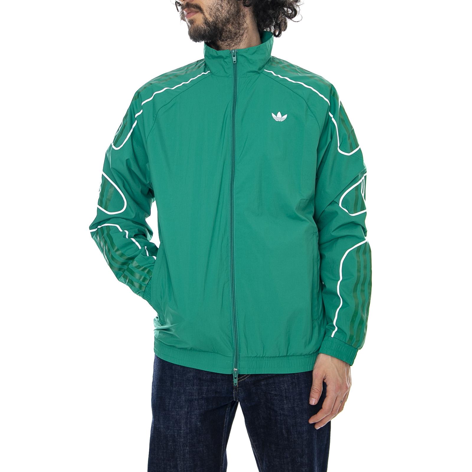 best cheap on feet images of great look Details about Adidas Flamestrike - Green - Mens Lightweight Jacket Green