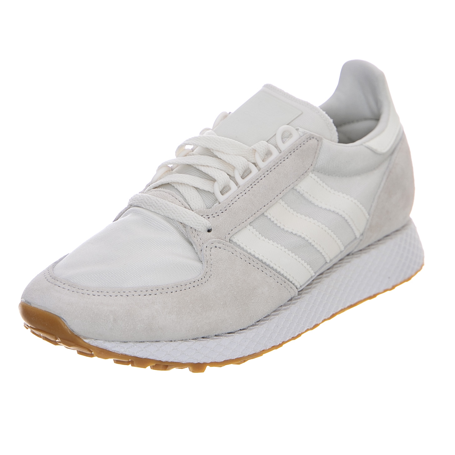 new product 9f2c8 bfc7a Adidas Forest Grove - Cloud White - Sneakers Basse Uomo Bianco