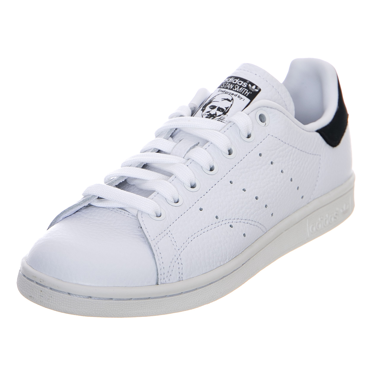 sports shoes 647d1 42aae Details about Adidas Stan Smith White/Core Black - Sneakers Low Man/Woman  White