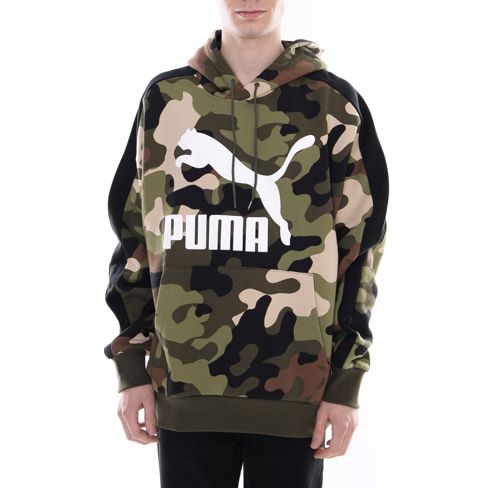 Puma Hoody Camo Forest Felpe Pack Green Night Wild FwxrFZqg