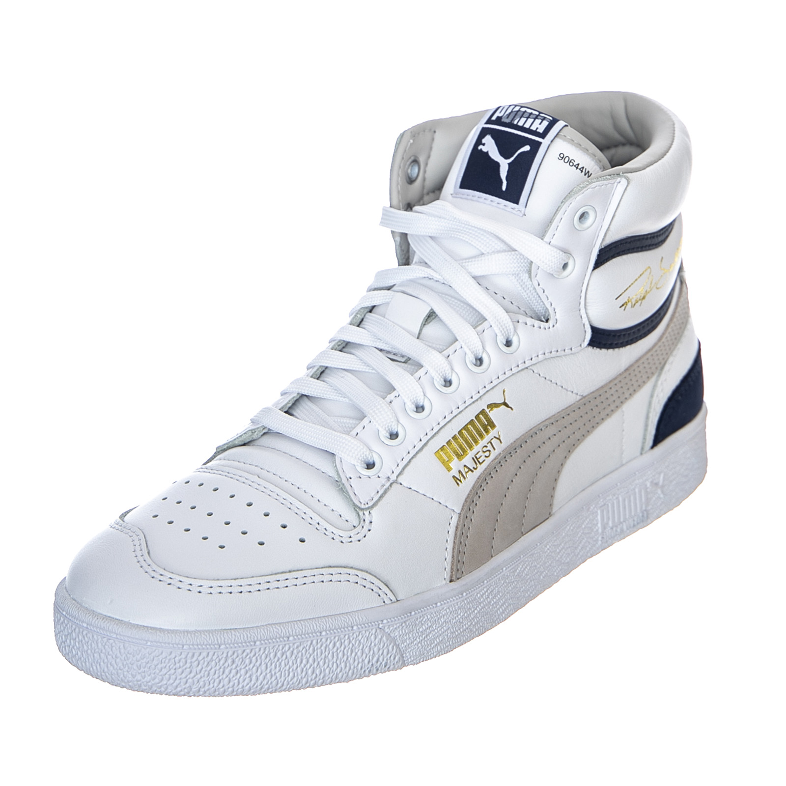 Details about Puma Ralph Sampson mid Og WhiteGreyViolet Peacoat High Sneakers