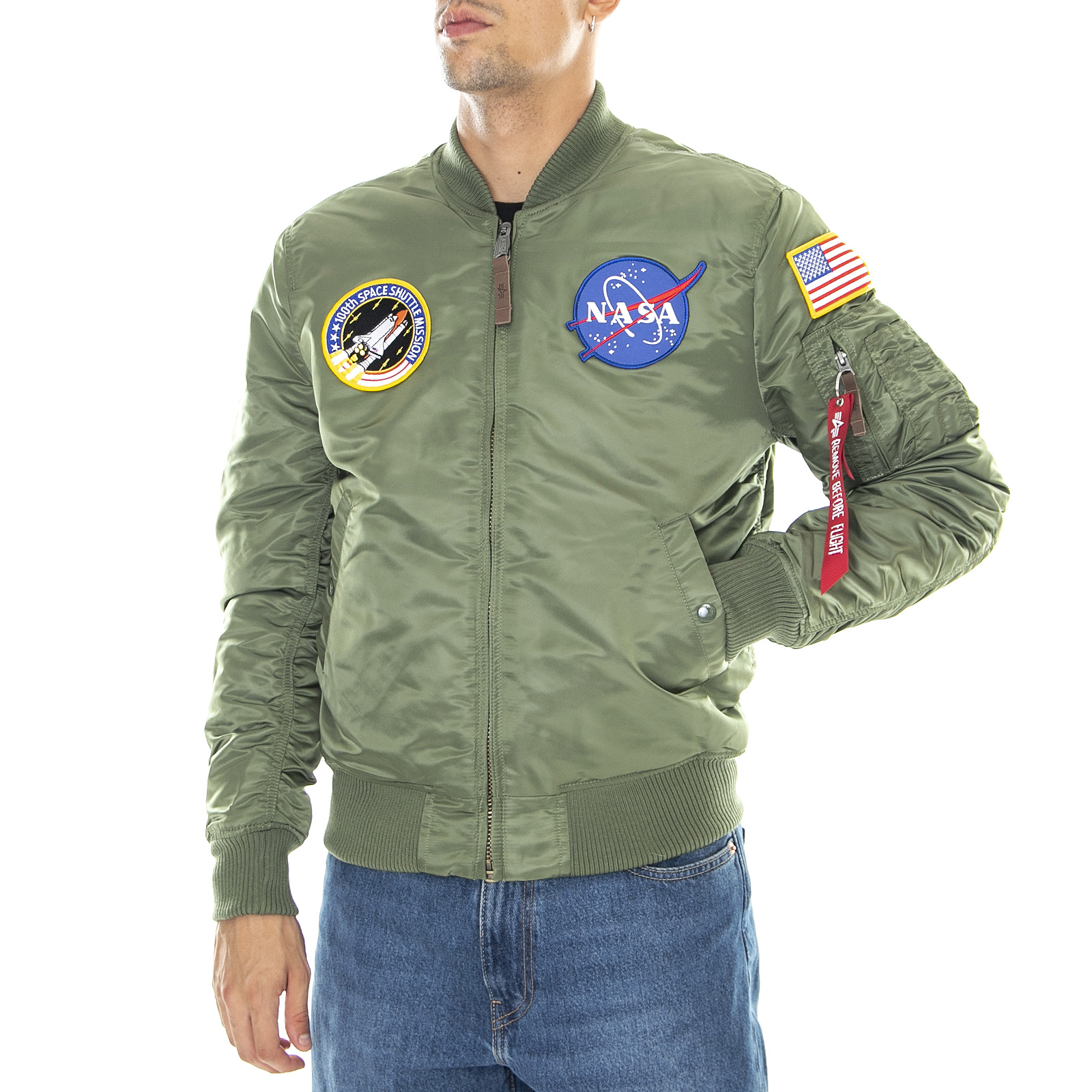 Nasa Green Ebay Ma 1 Industries Giacche Alpha Sage Verde Vf wfqX10nx4P