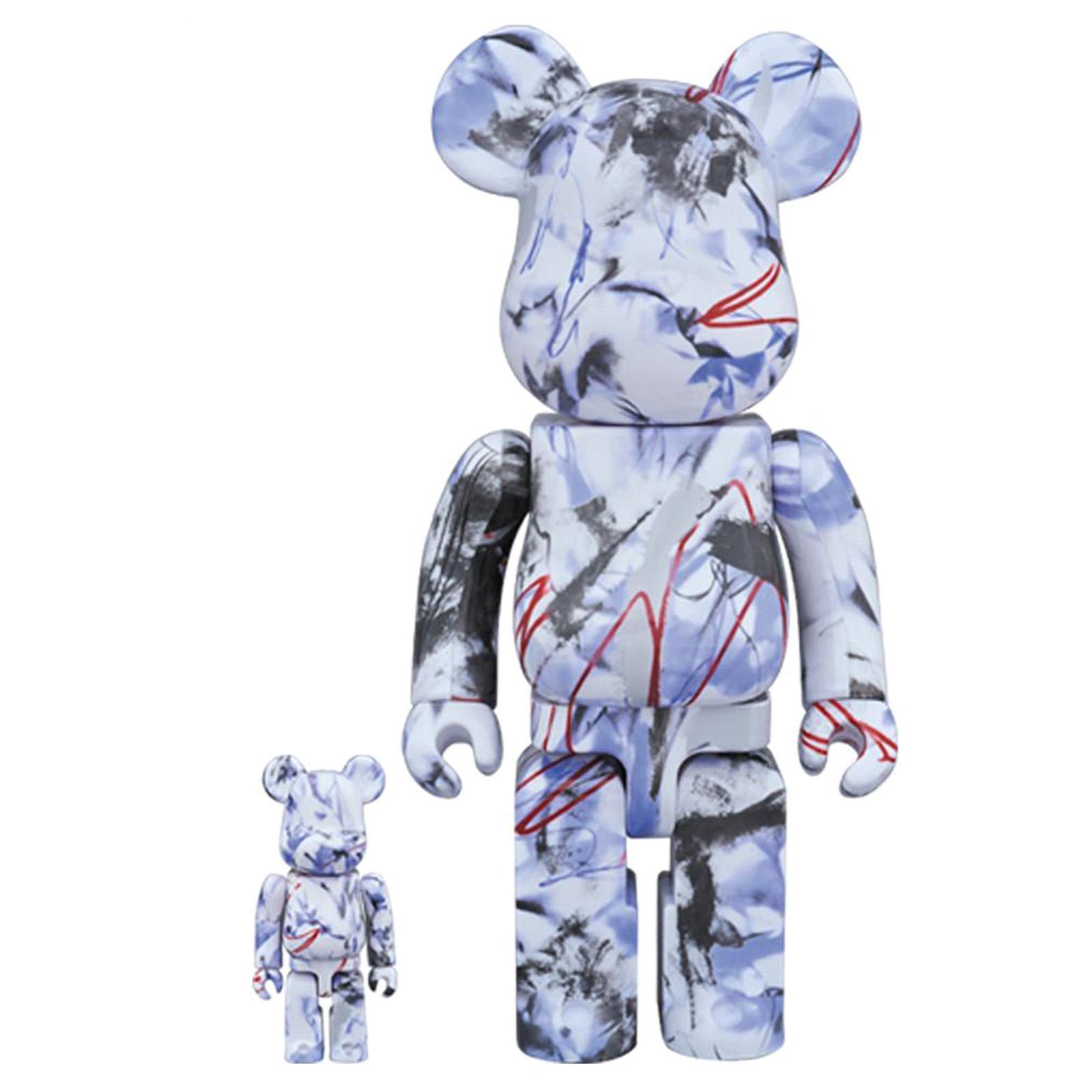 Medicom Toy Bearbrick Futura - MultiColor - Pupazzo Gadget Toy 100% & 400%