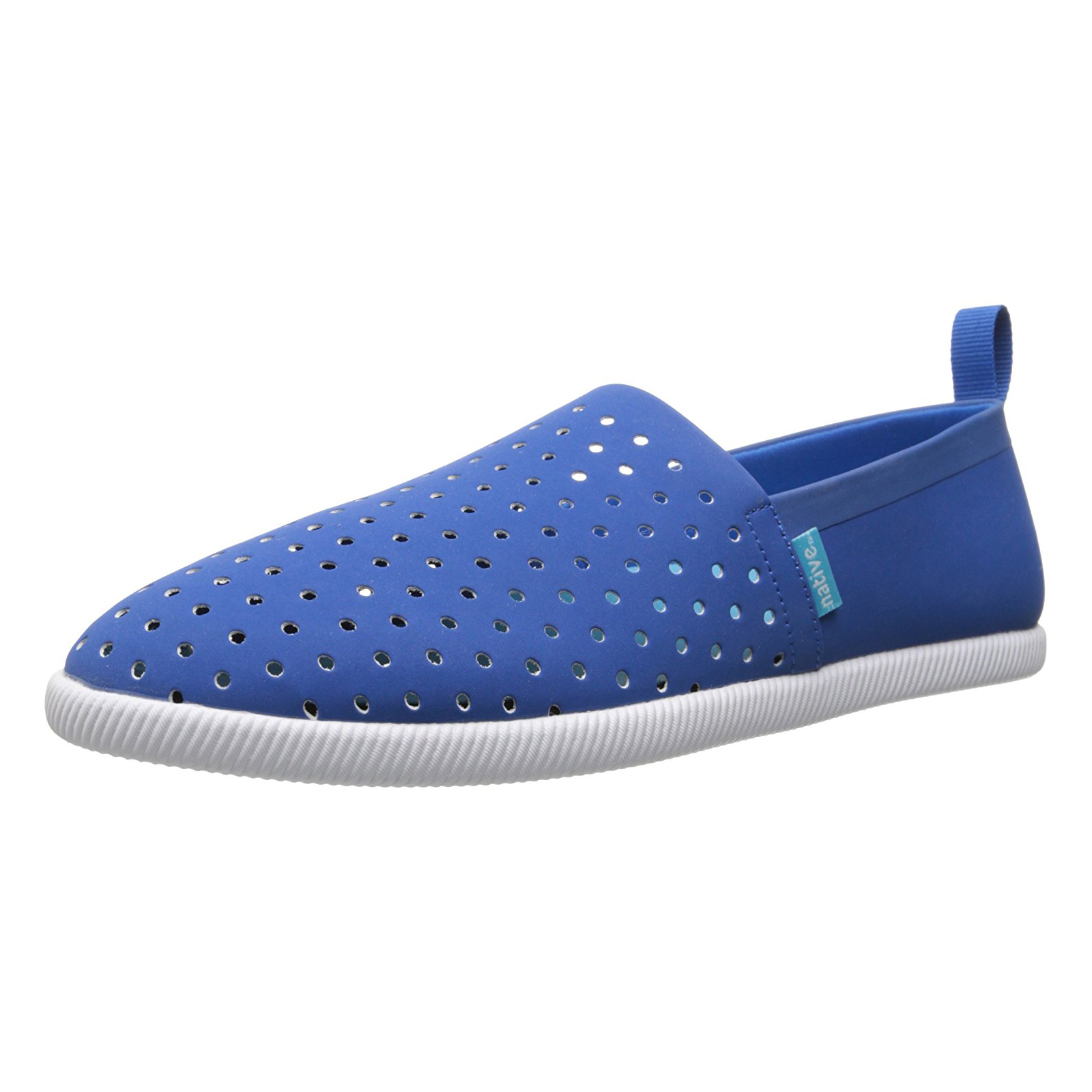 Native Sneakers Venice 1 Victoria bluee Shell White bluee