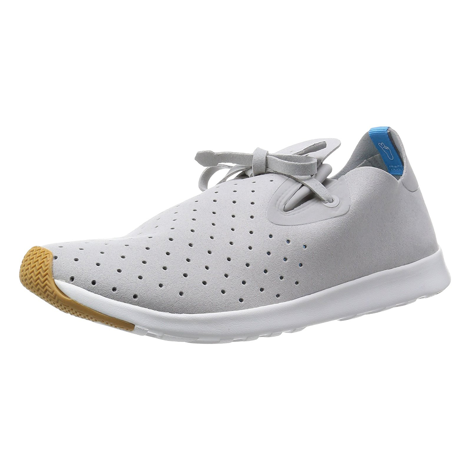 Native Sneakers Apollo Moc Pigeon Grey  Shell White grey