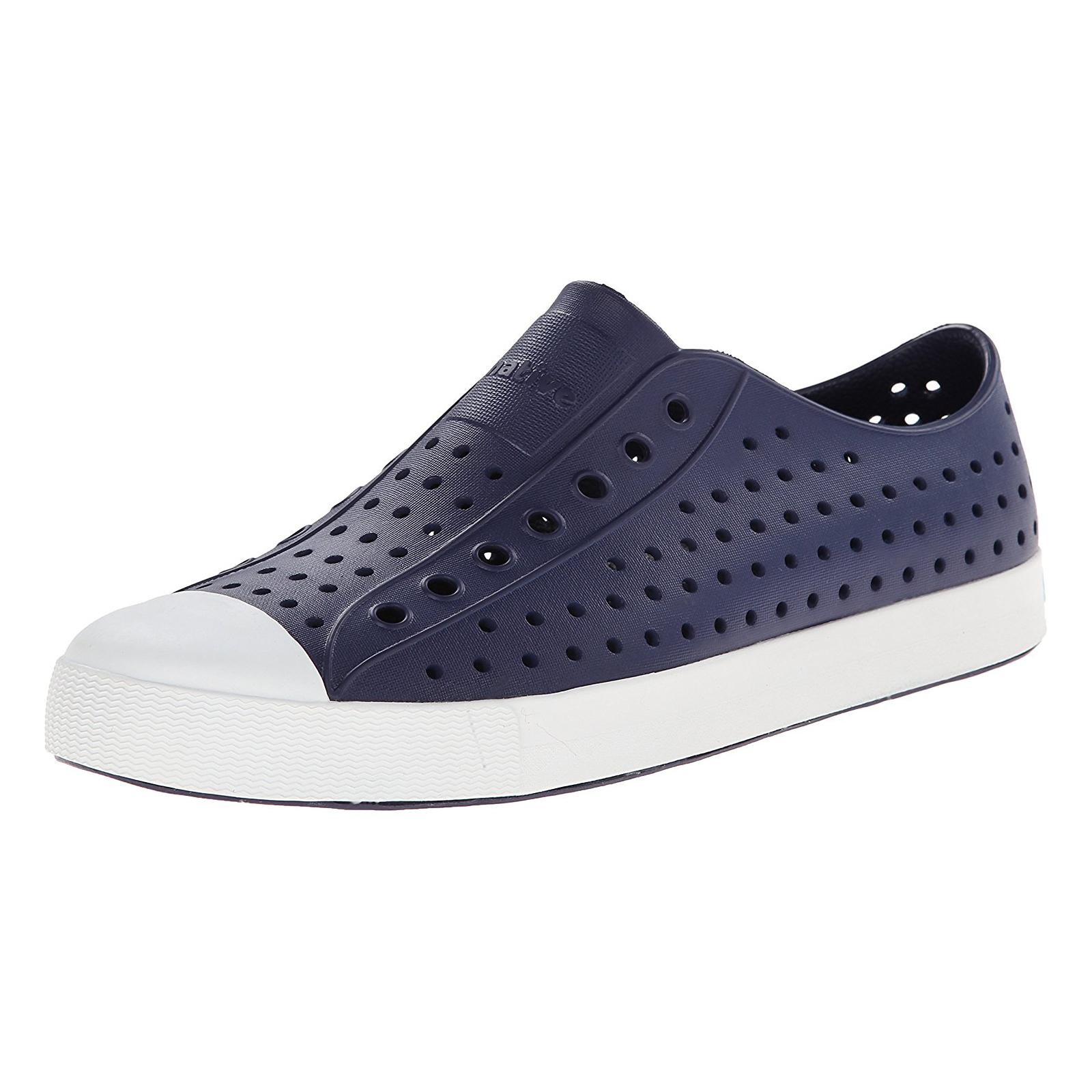 Native Sneakers Jefferson Regatta bluee Shell White bluee