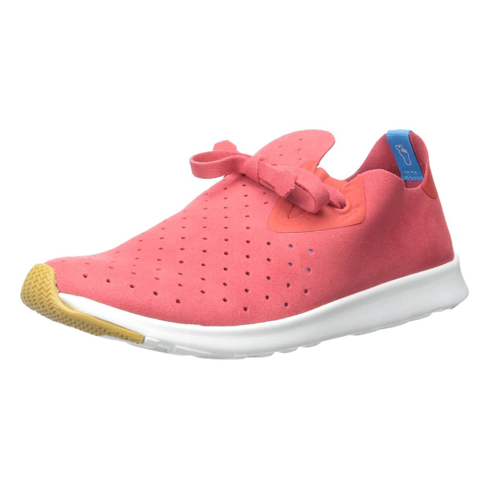 Native Sneakers Apollo Moc Torch Red  Shell White red