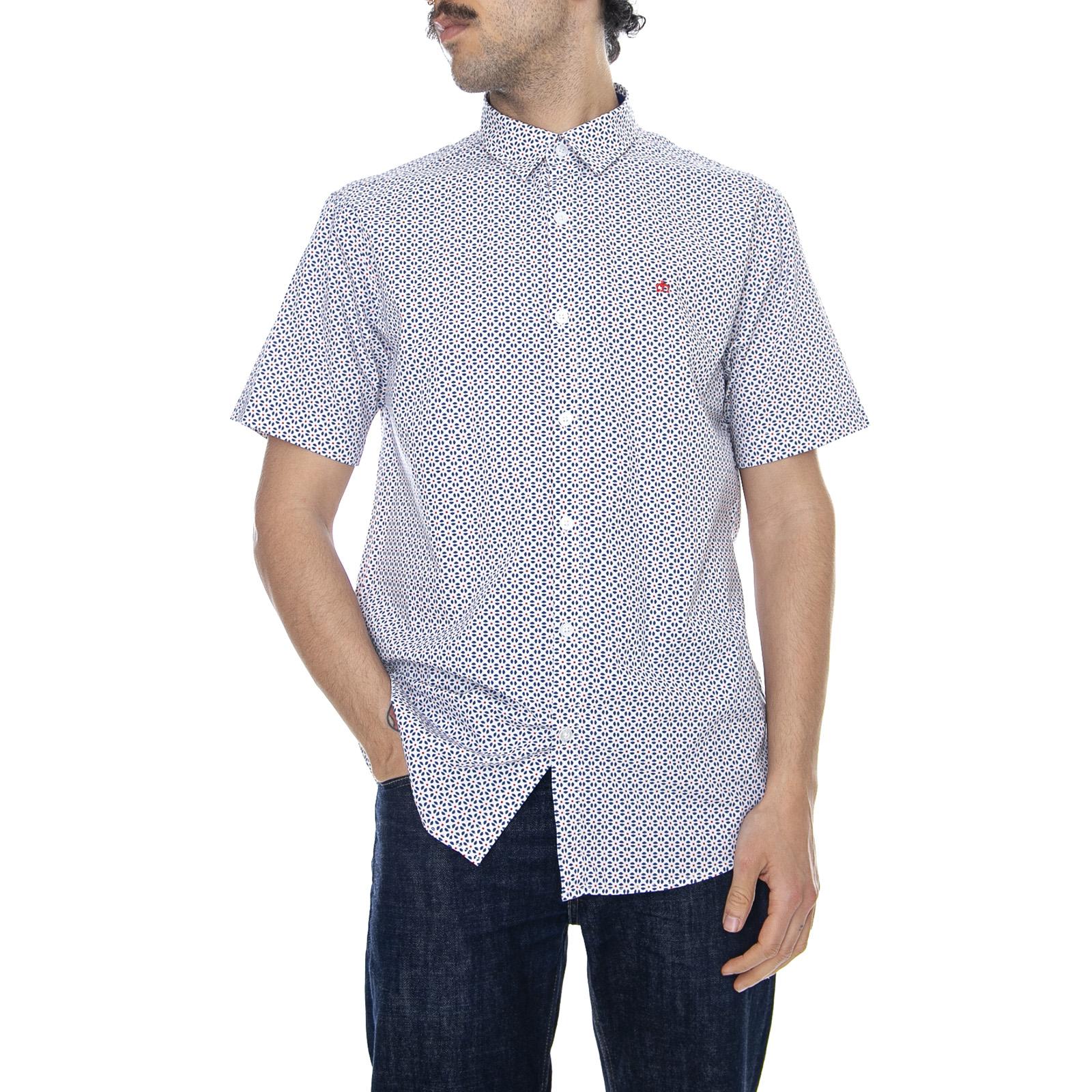 Short Sleeve Maglietta Uomo Shirt Merc of London Mack