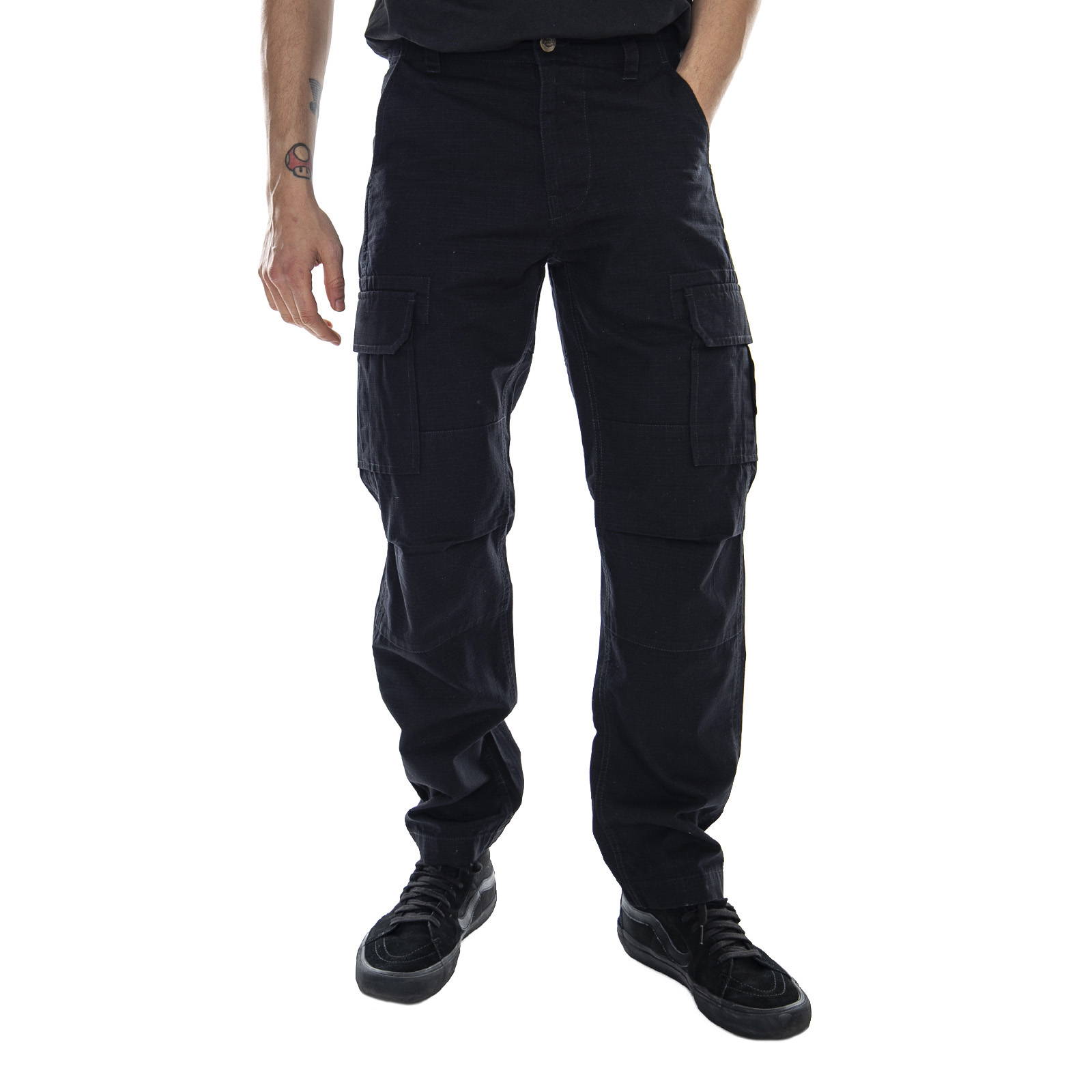 cosa succo Sperimentare  Dickies Edward Sport Pant - Black - Pantaloni Cargo Uomo Nero | eBay
