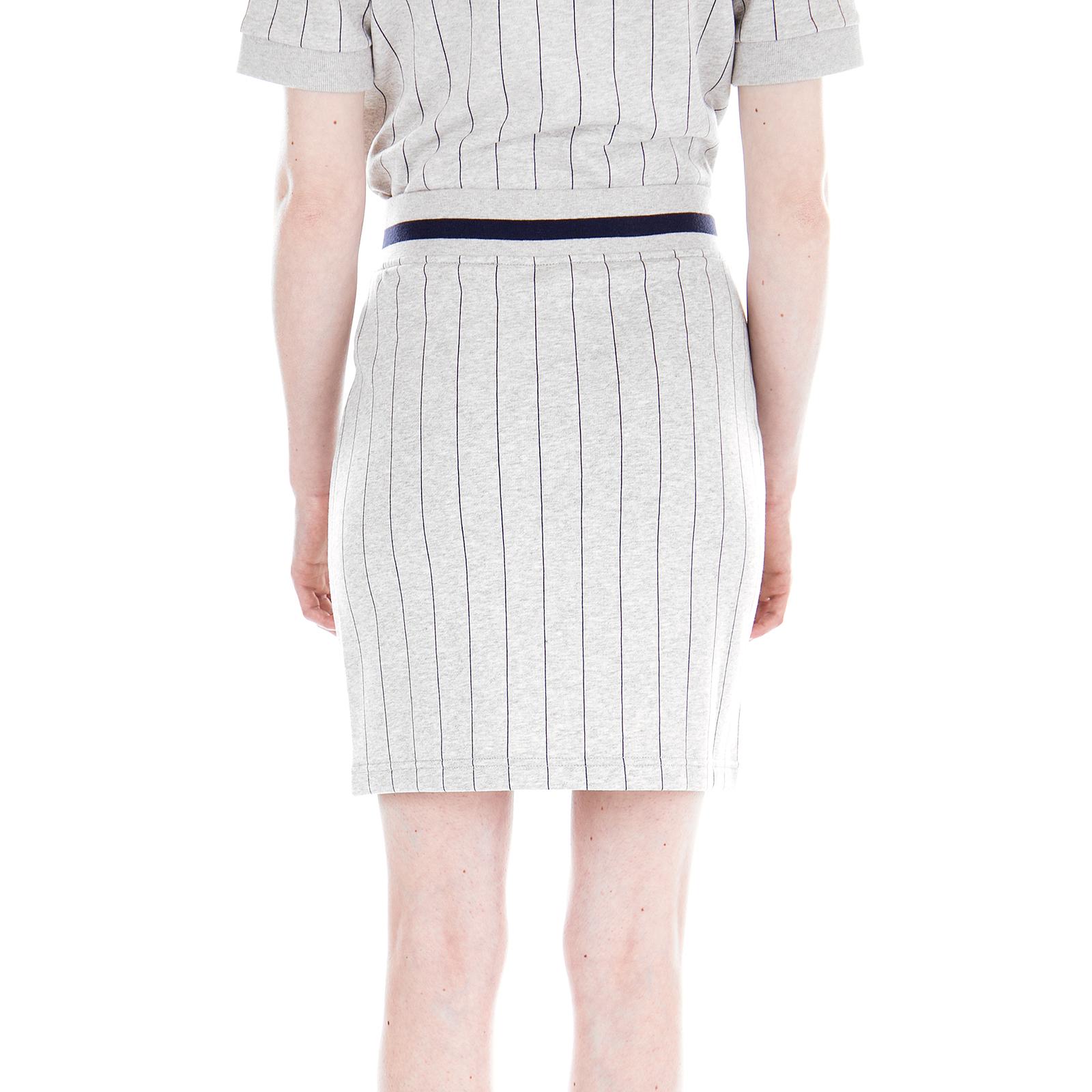 8ac7e61b8 Fila Skirts Francesca Skirt Light Grey Marl Pinstripe Grey | eBay