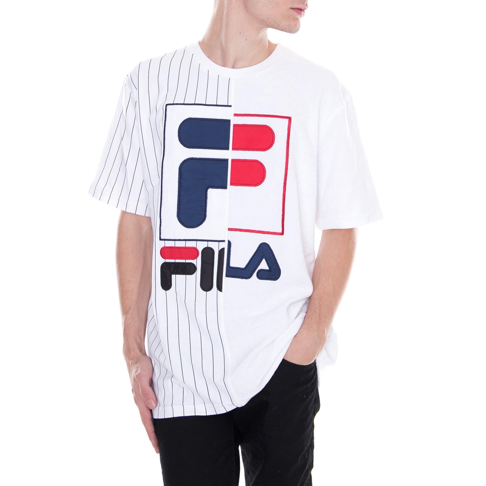 Fila T-Shirt Aiden Tee White White