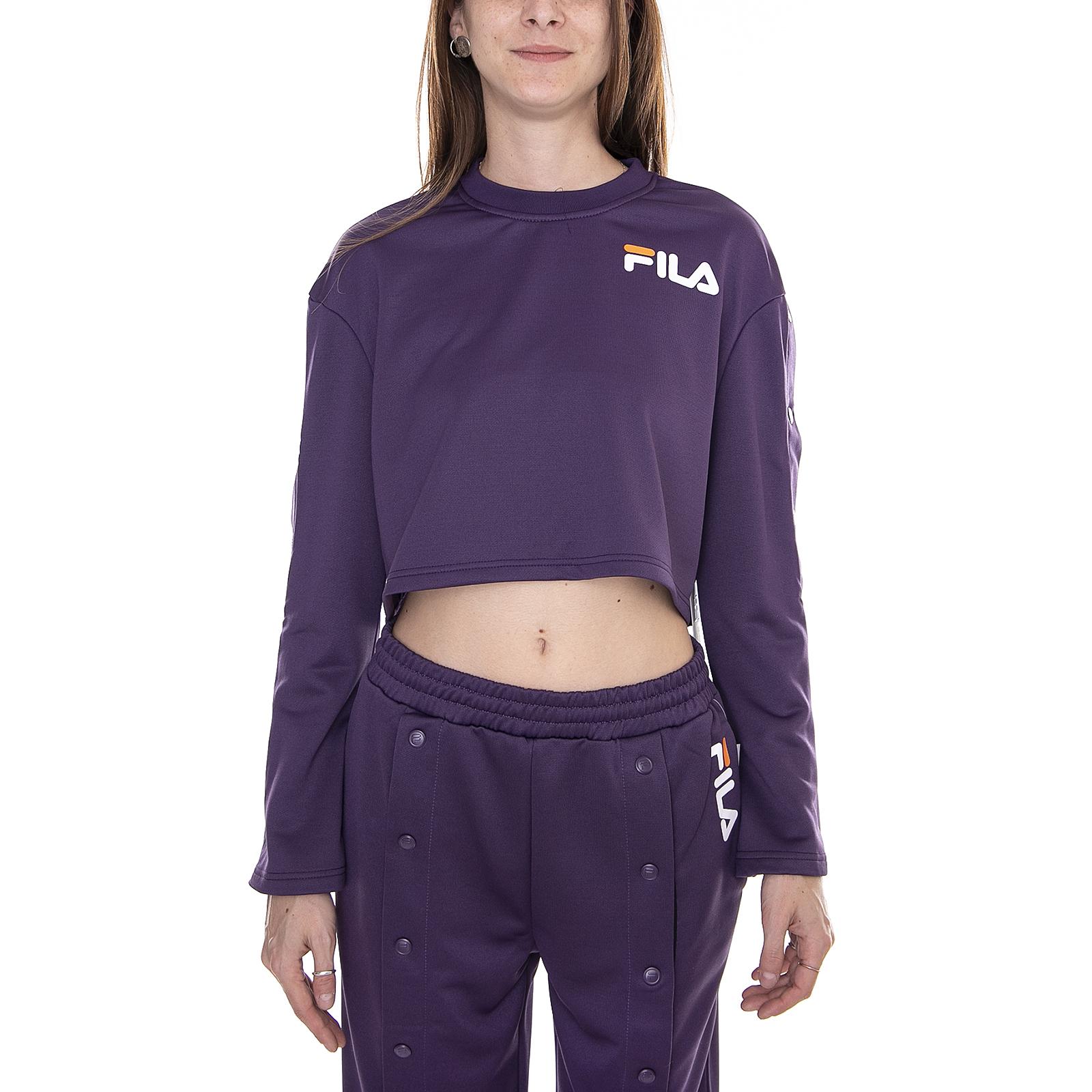 94545f2f7d89 ... Fila Sweatshirts Aurora Flared Snap Purple purple purple purple c6718a  ...