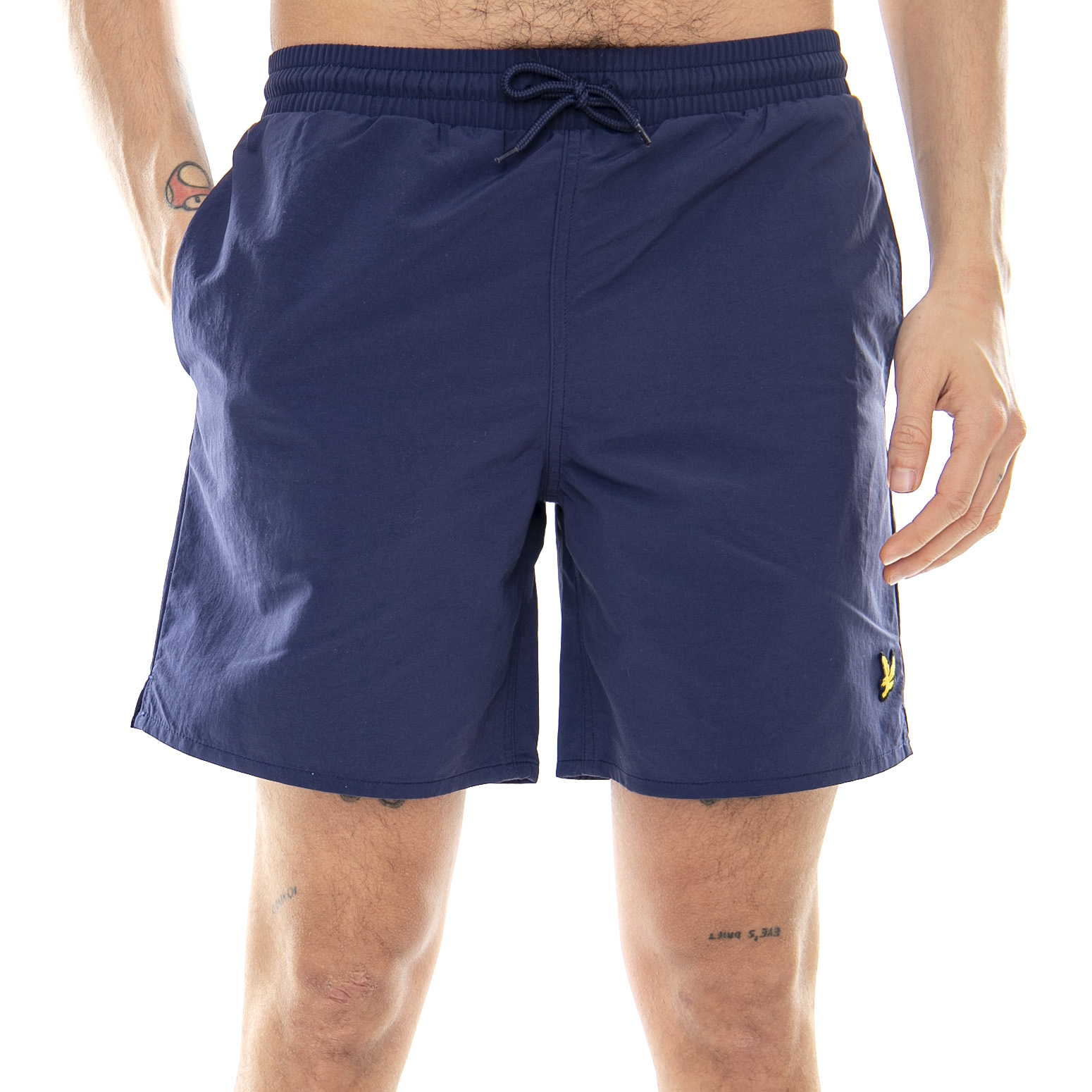 cfc2cbeef11cb Lyle & Scott Plain Swim Short Navy Blue - Bermuda/Shorts Uomo Blue