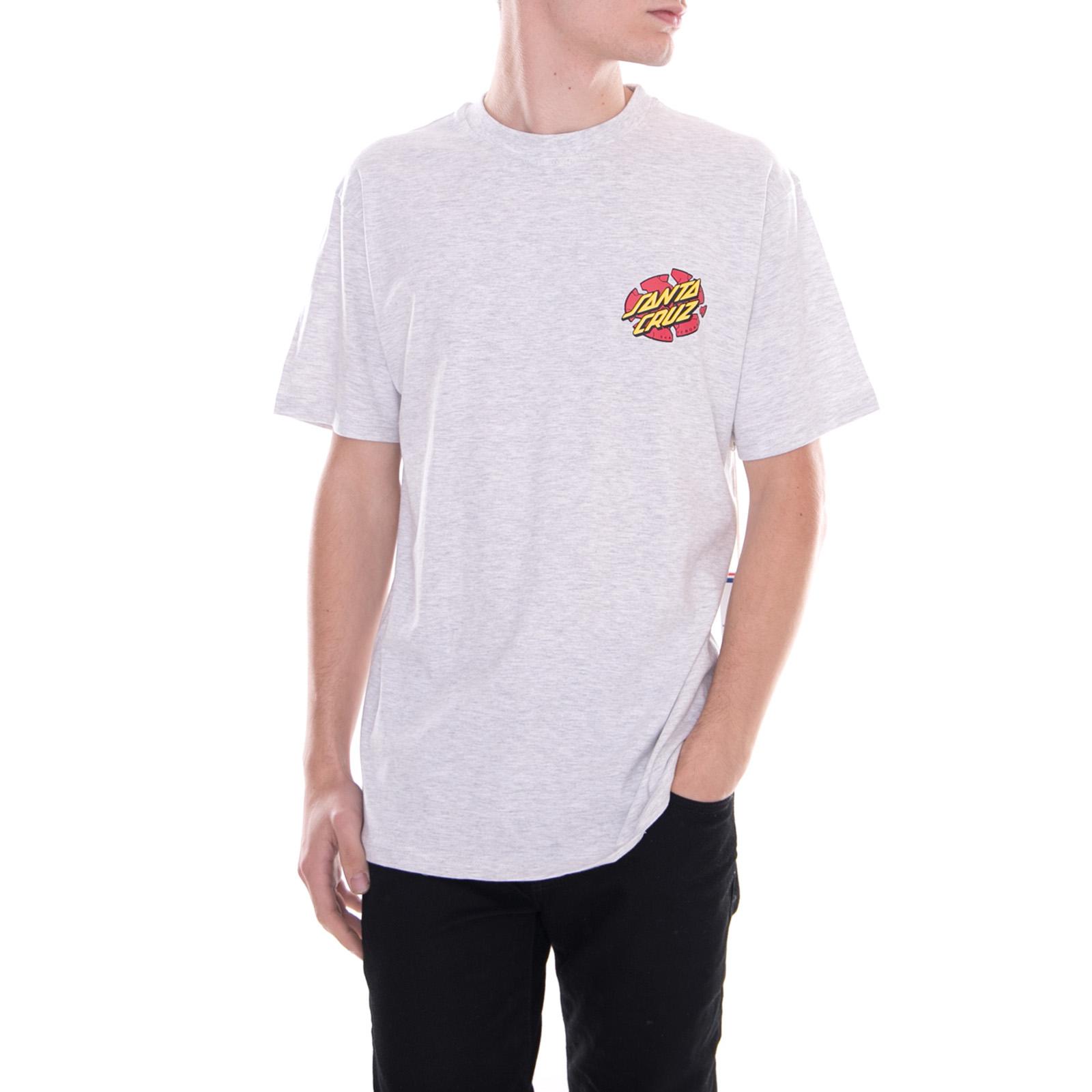 Santa Cruz T-Shirt Broken Dot t-shirt Grey Grey