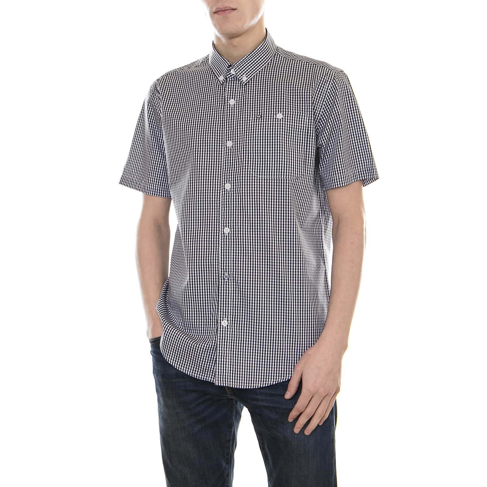 5a544aaa91 Weekend Offender Shirts Baum Navy White Multicolour nocqca1018-Casual Shirts    Tops