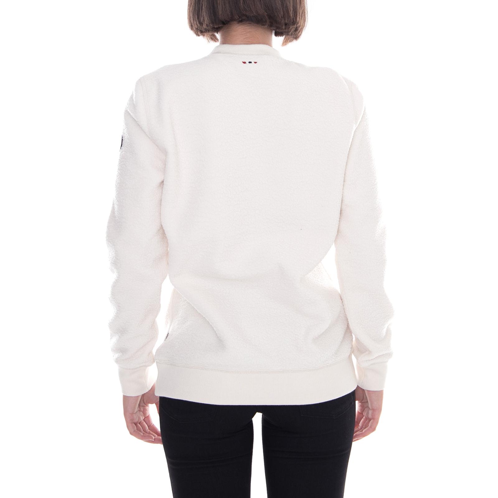 Napapijri Apprivoiser Sweatshirts Neuf Blanc Lait Wom r0rwq56