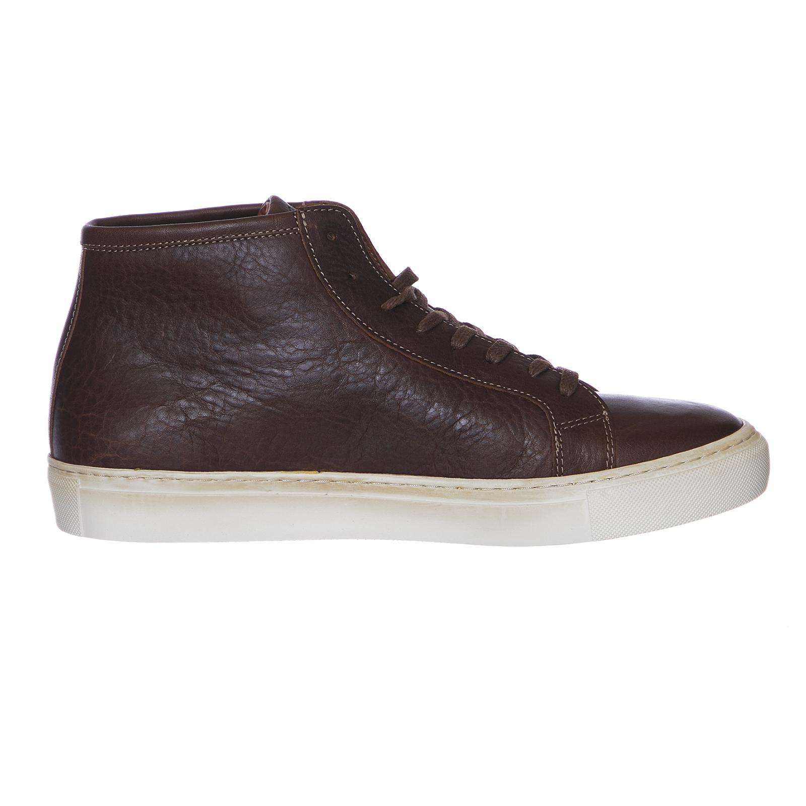 Legends scarpe da ginnastica ginnastica ginnastica Resort High Cognac Off bianca Marronee | Moda Attraente  63fe2f