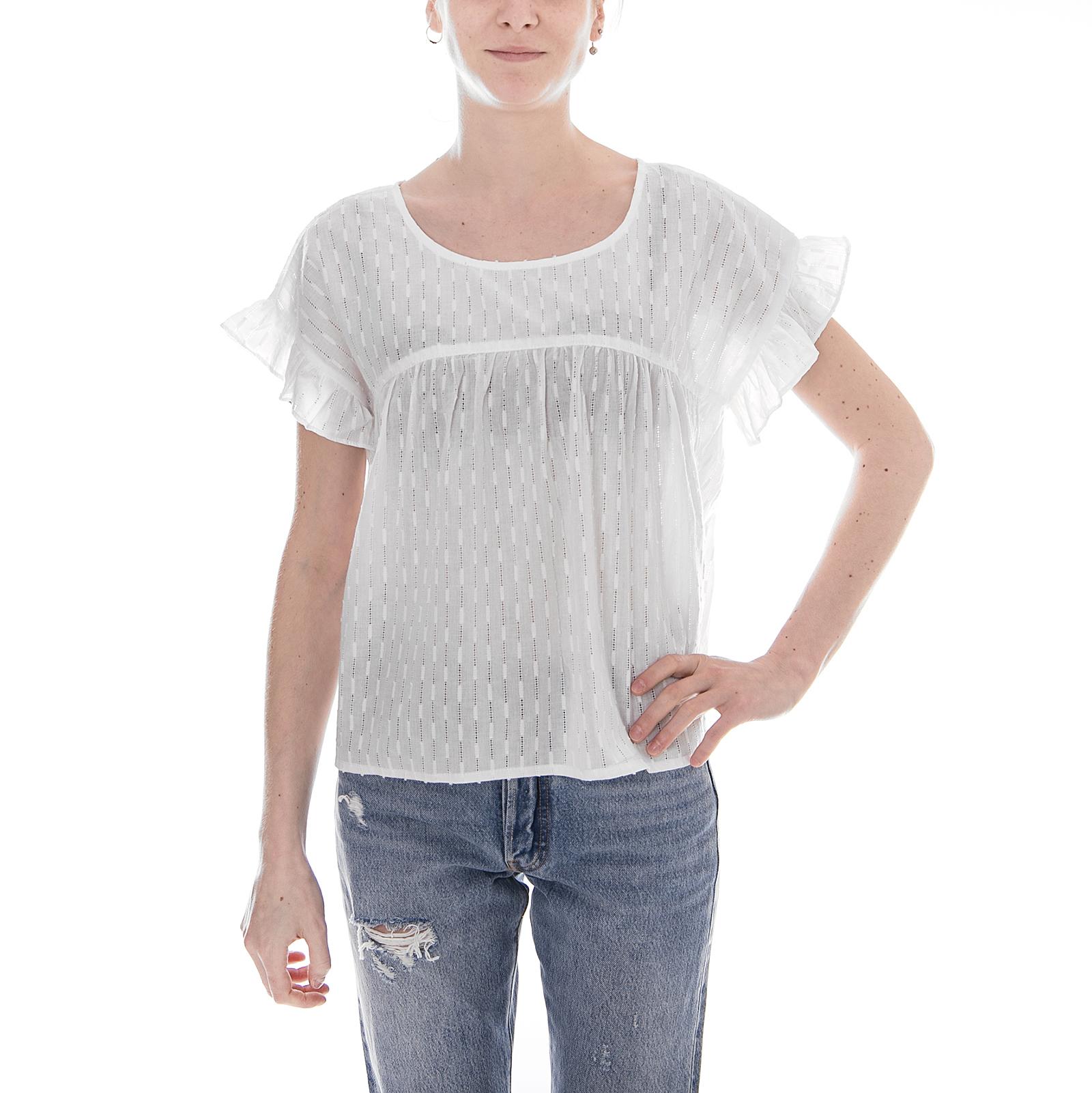 Minimum Top Brianette White  Bianco