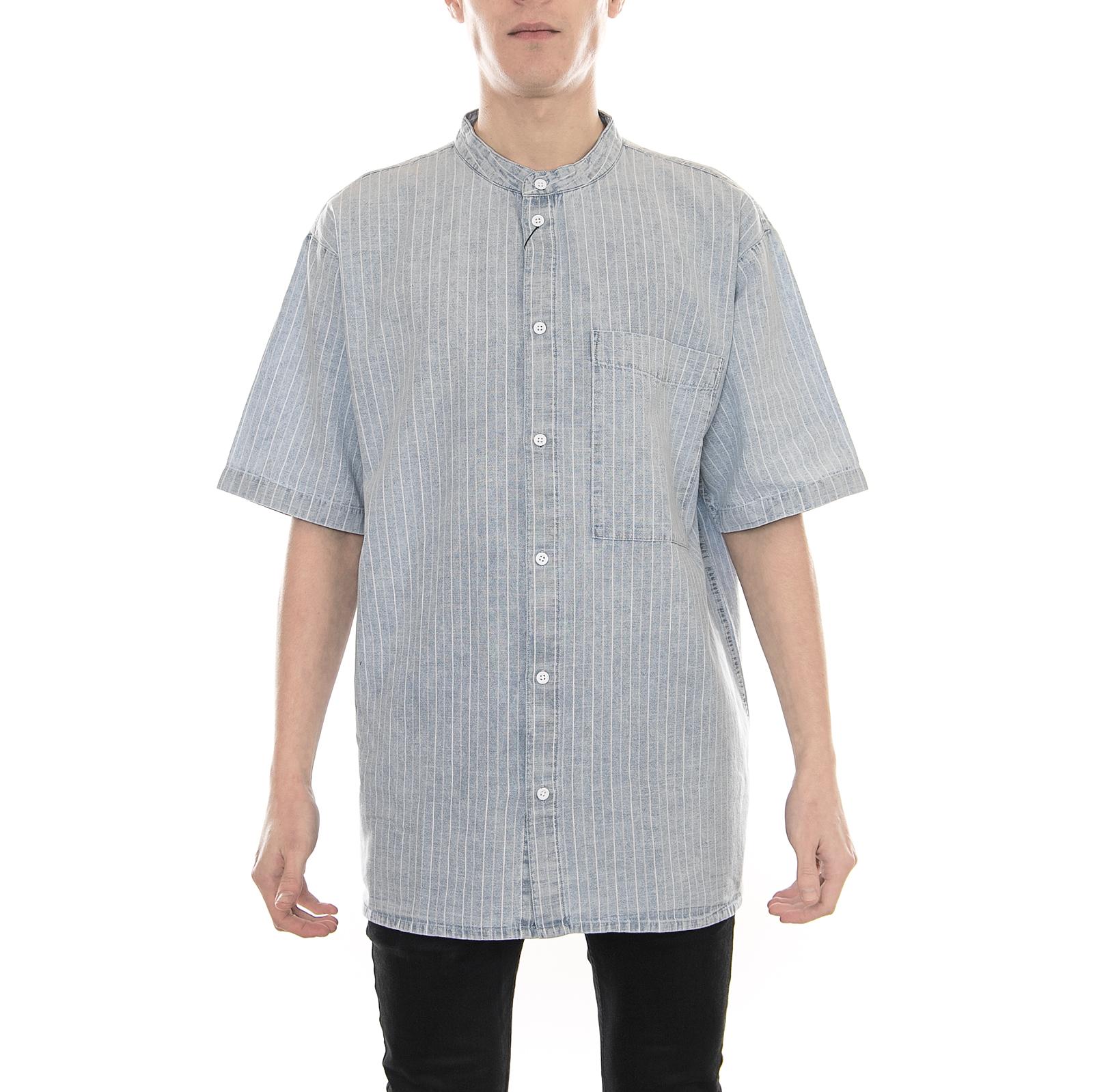 Grigio 6XL James & Nicholson Uomo's Business Shirt Longsleeve, Camicia Camicia Camicia edab89