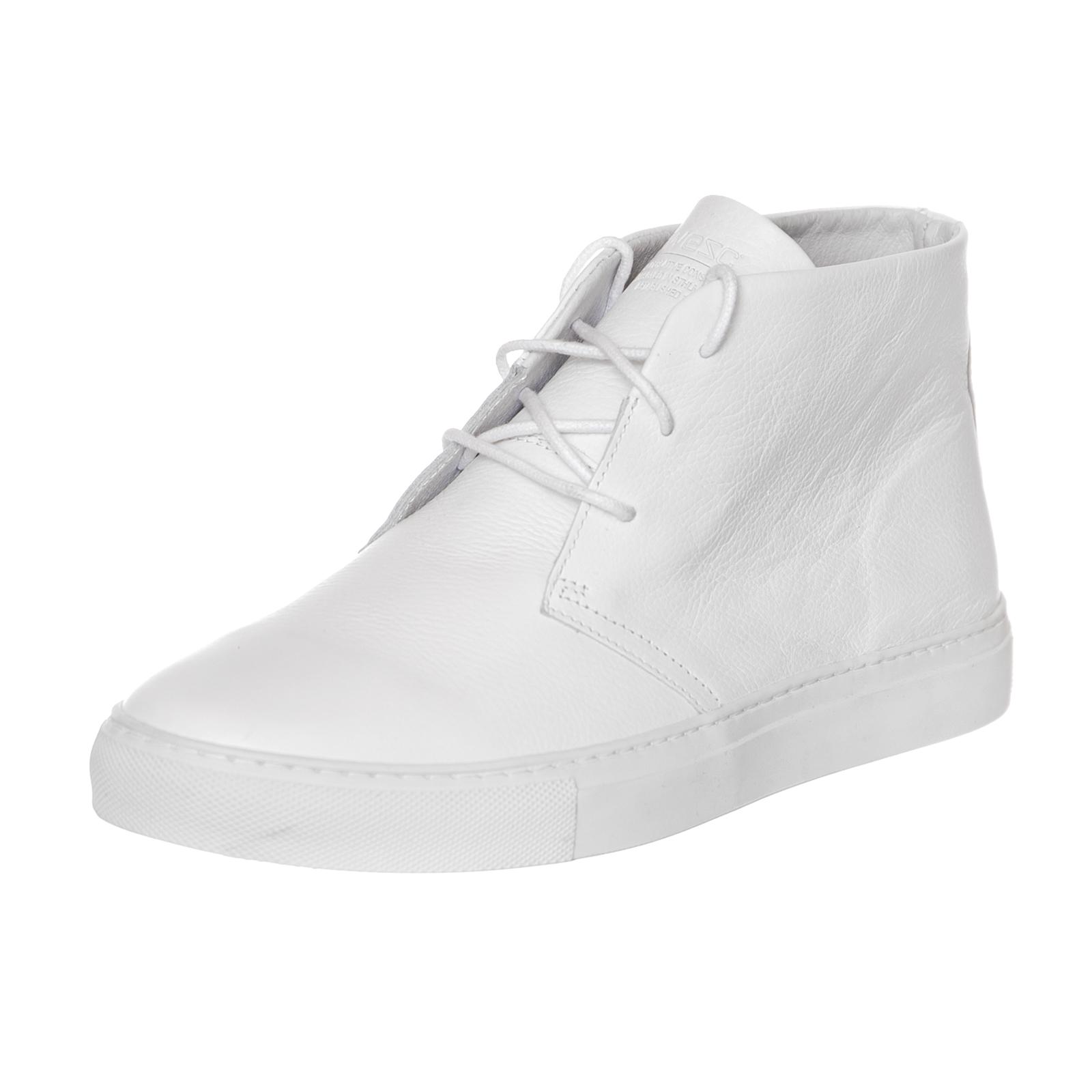 37d7407471 Wesc Sneakers Casual Chukka Mid Top White White